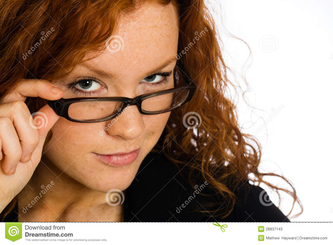 flirting signs for girls without glasses for women hair