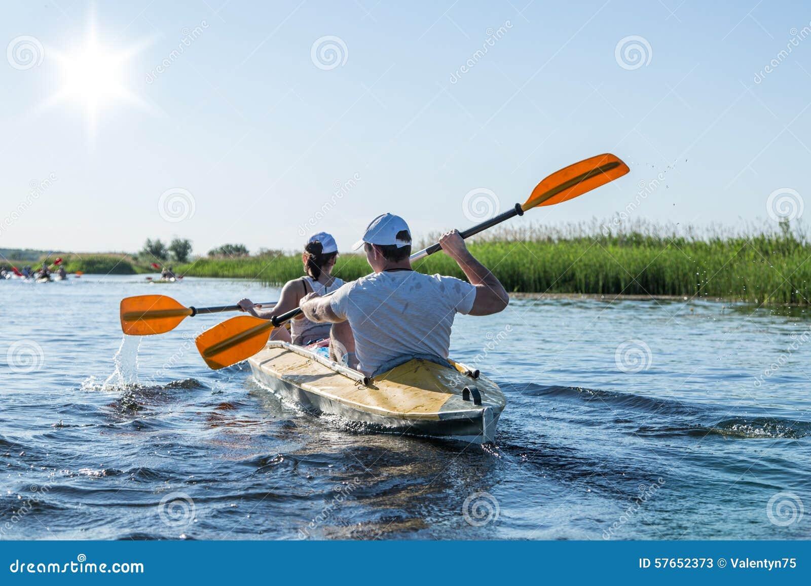 Flisactwo na Vorskla rzece