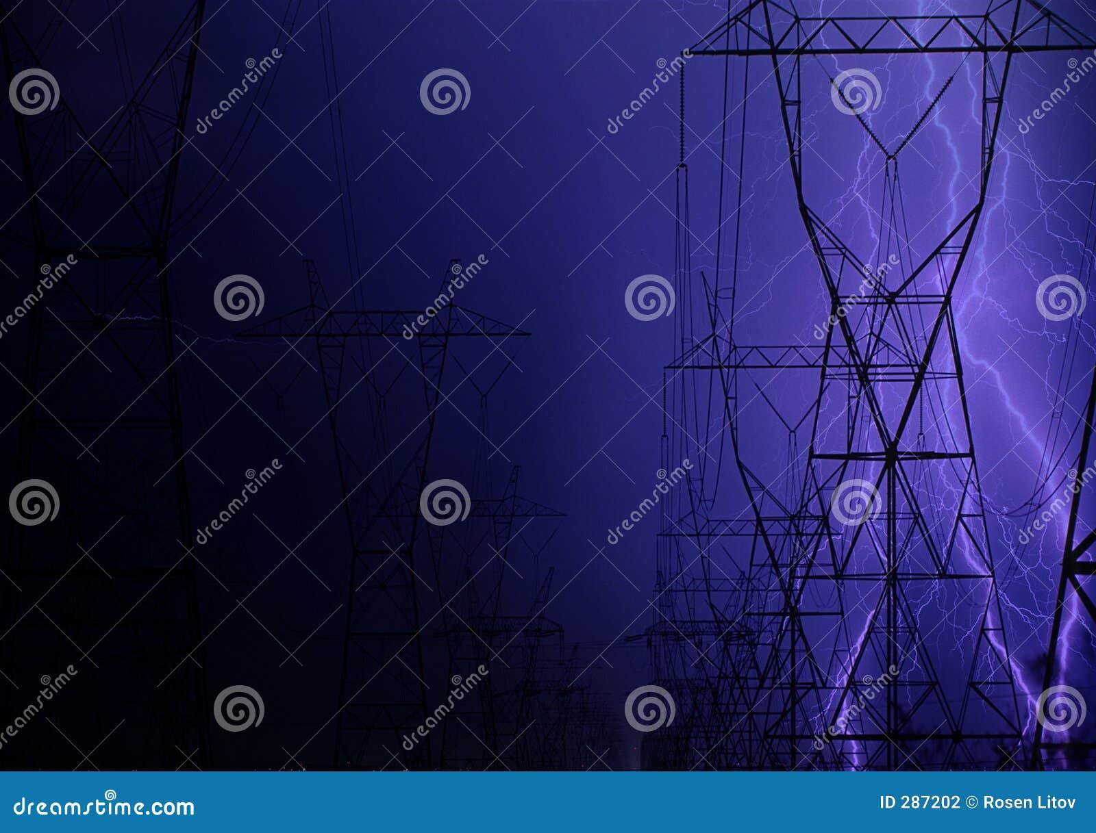 Flits over elektrische bedrading