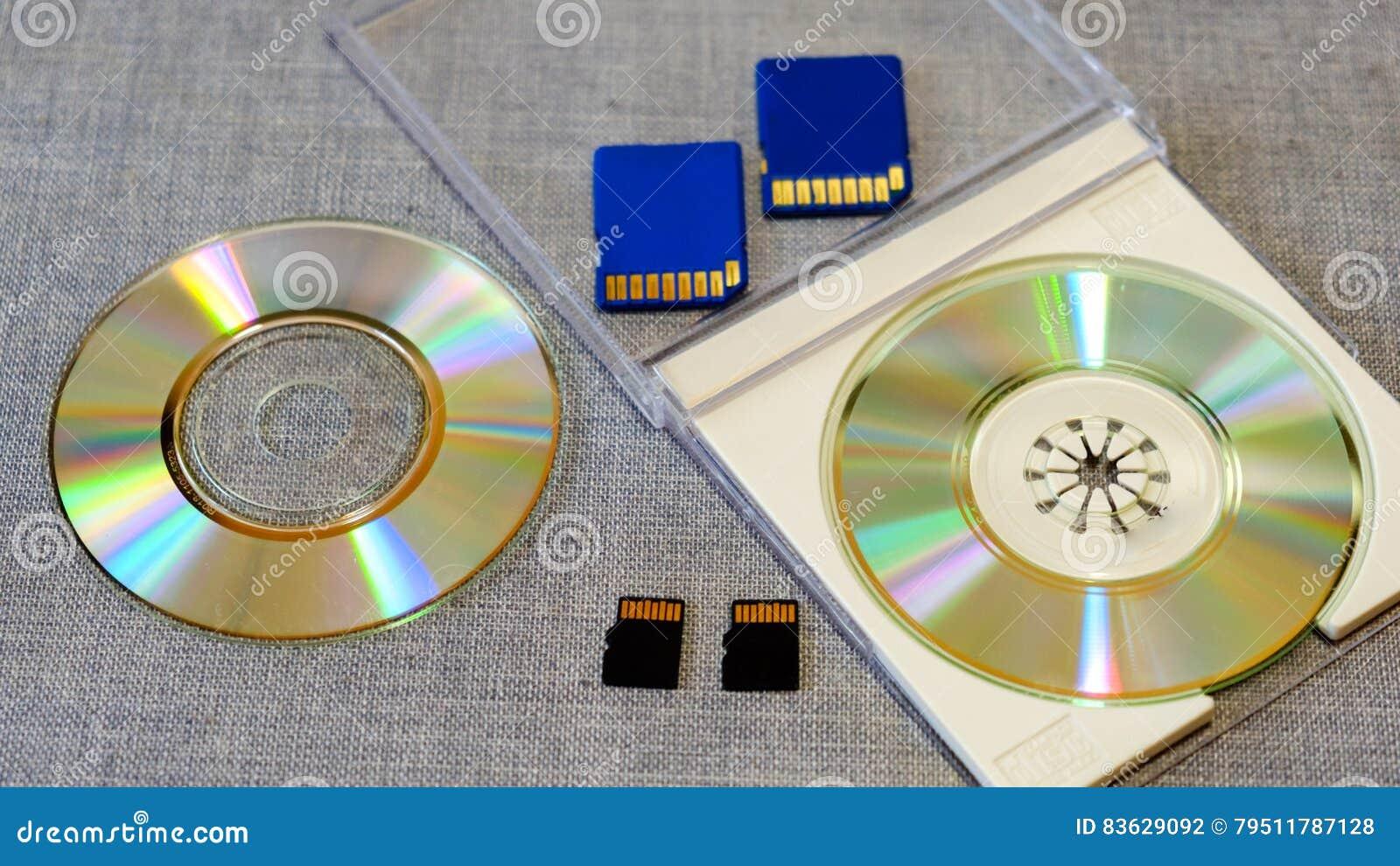 Flitsaandrijving en geheugen onder CD