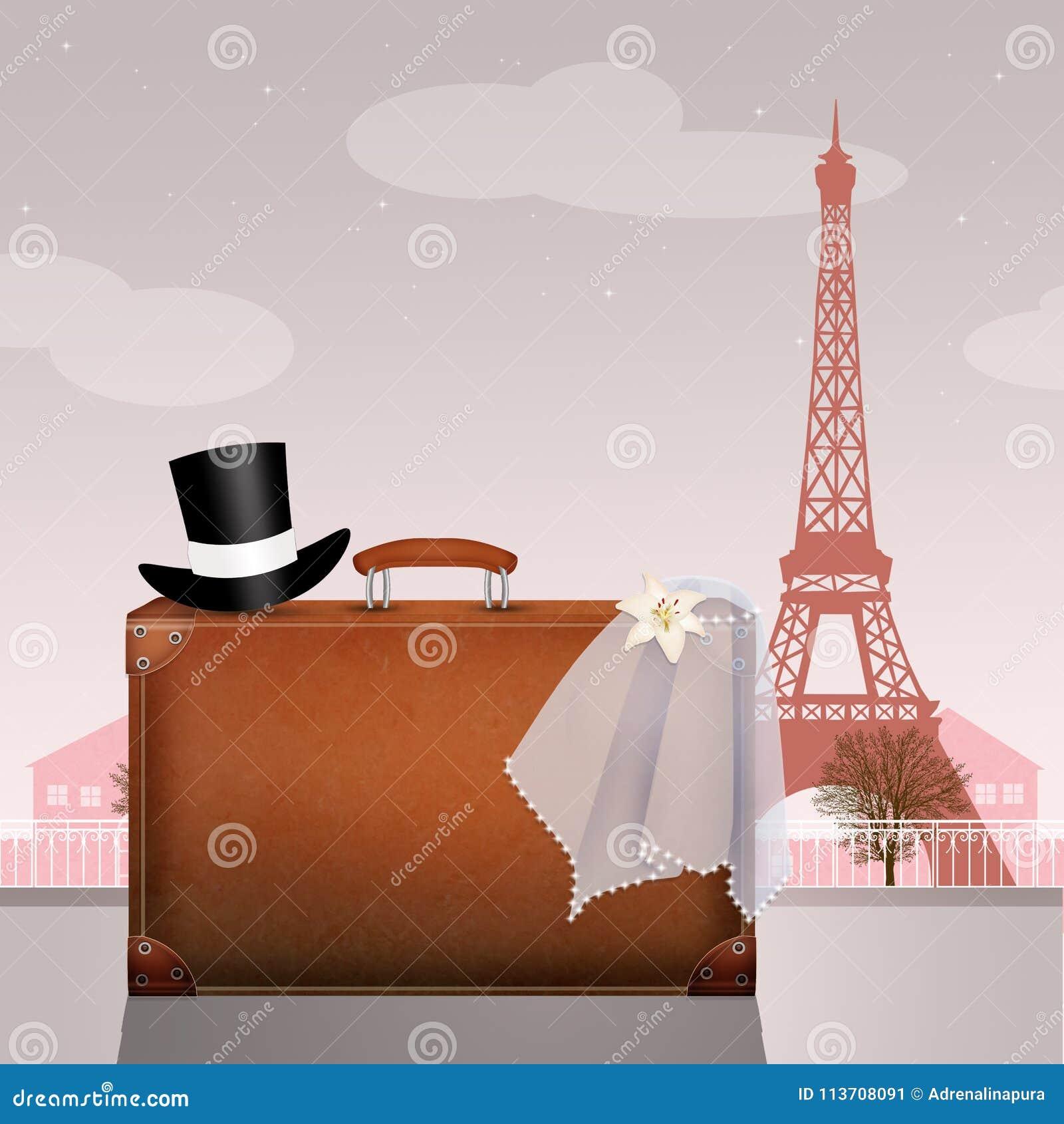 Flitterwochen in Paris