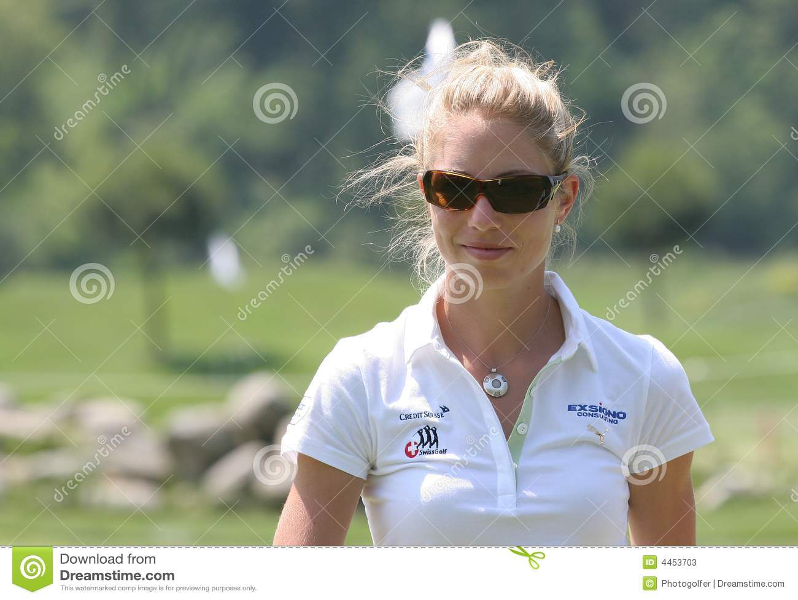 Flo Luscher, Golf Swiss Open, Losone, 2007