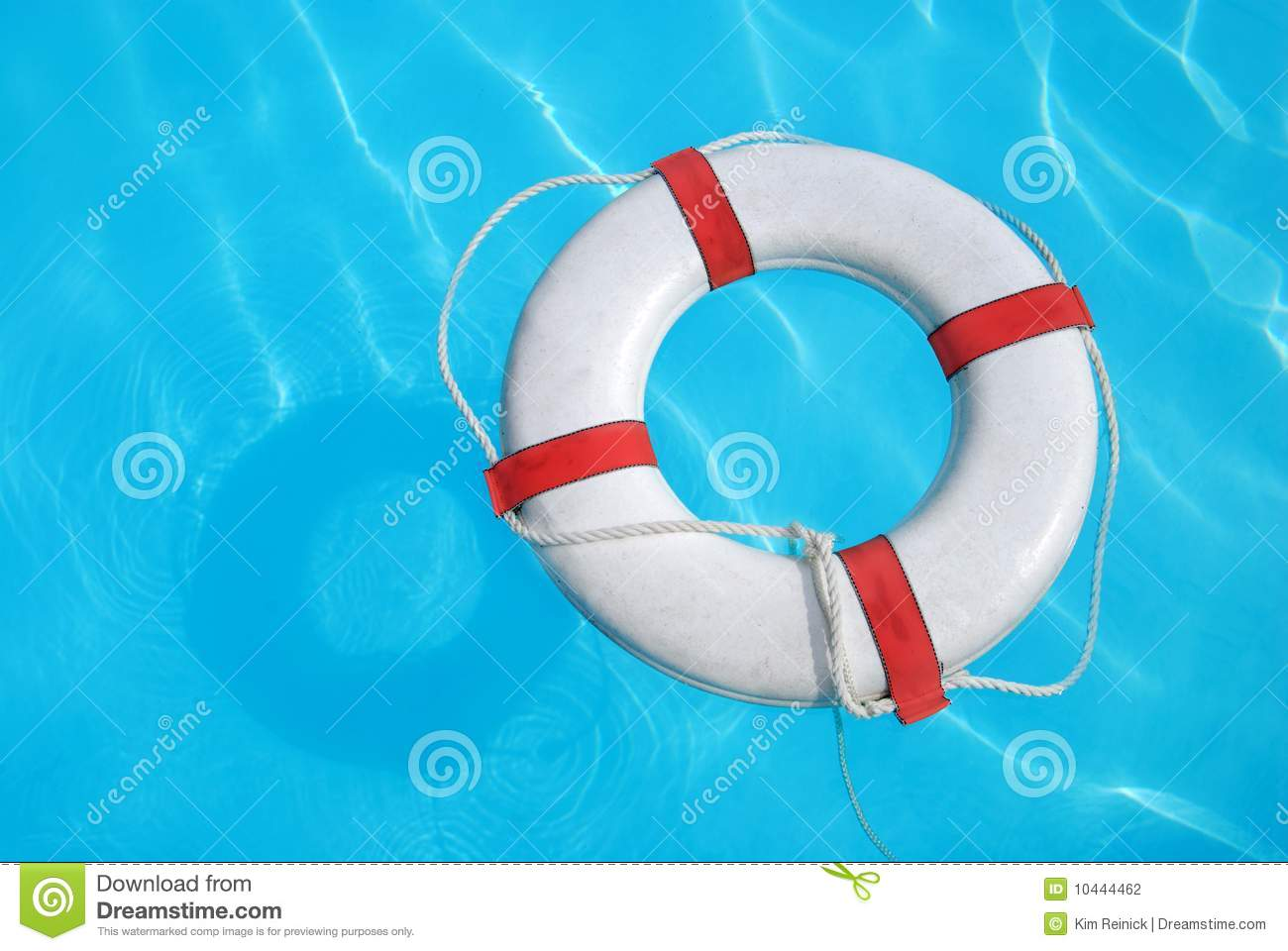 Floating Buoy In Swimming Pool