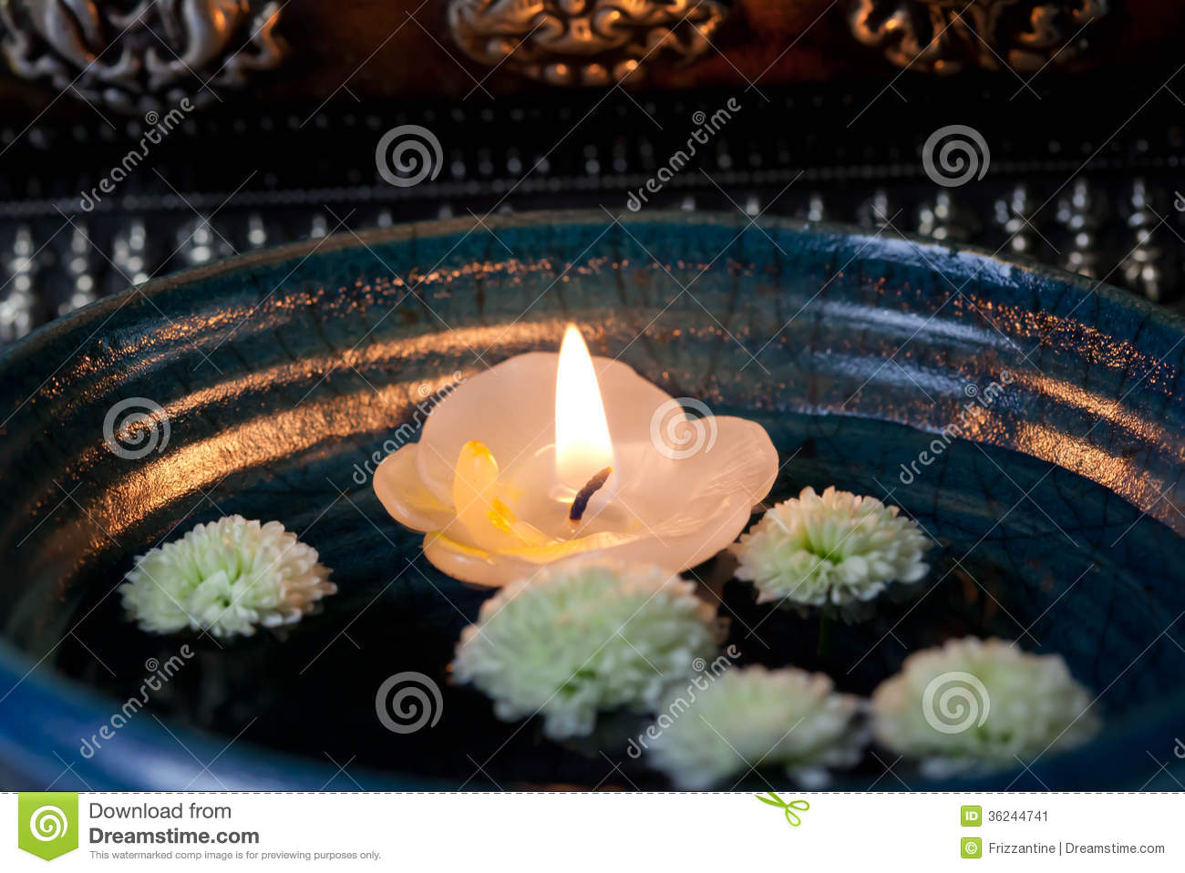 Floating Candle Asia - Stock Photo Stock Image - Image: 36244741