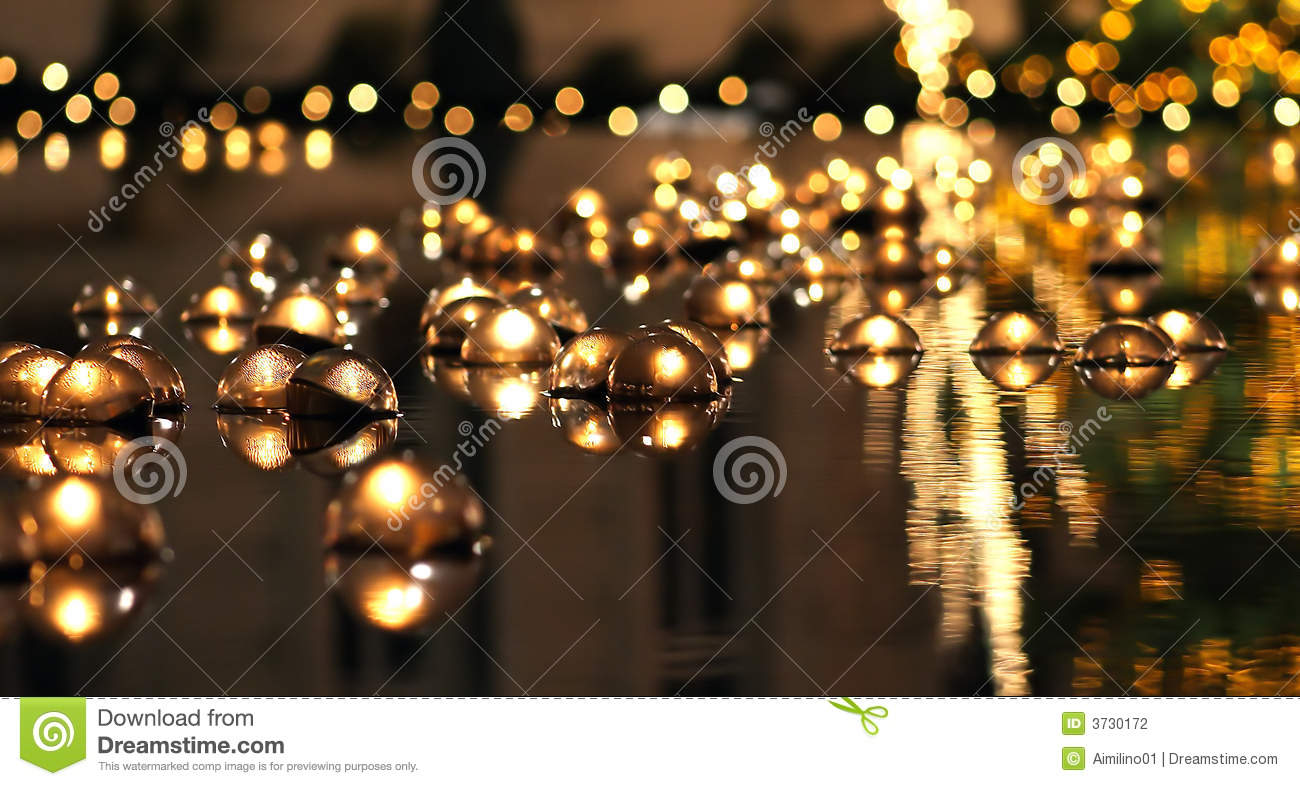 Floating Candles Christmas