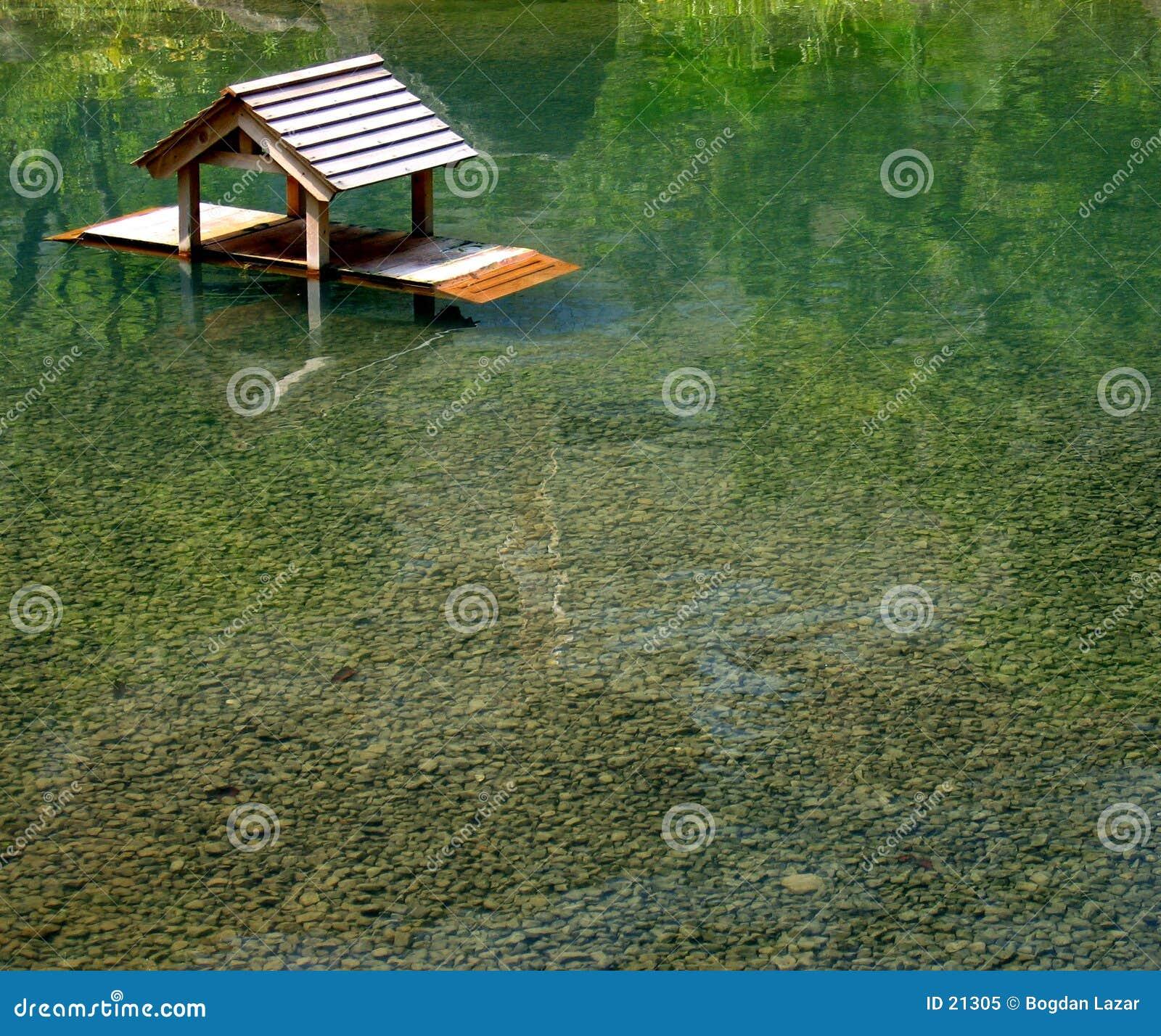 Floating shrine