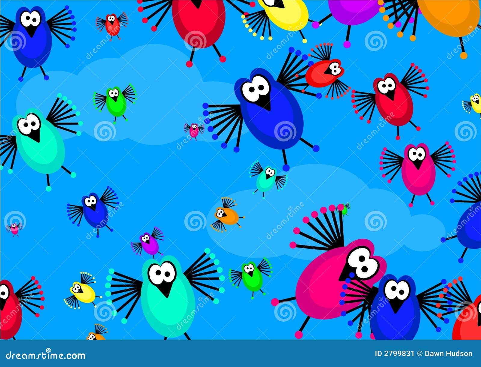 Flock Of Birds Stock Illustration Illustration Of Patterns 2799831
