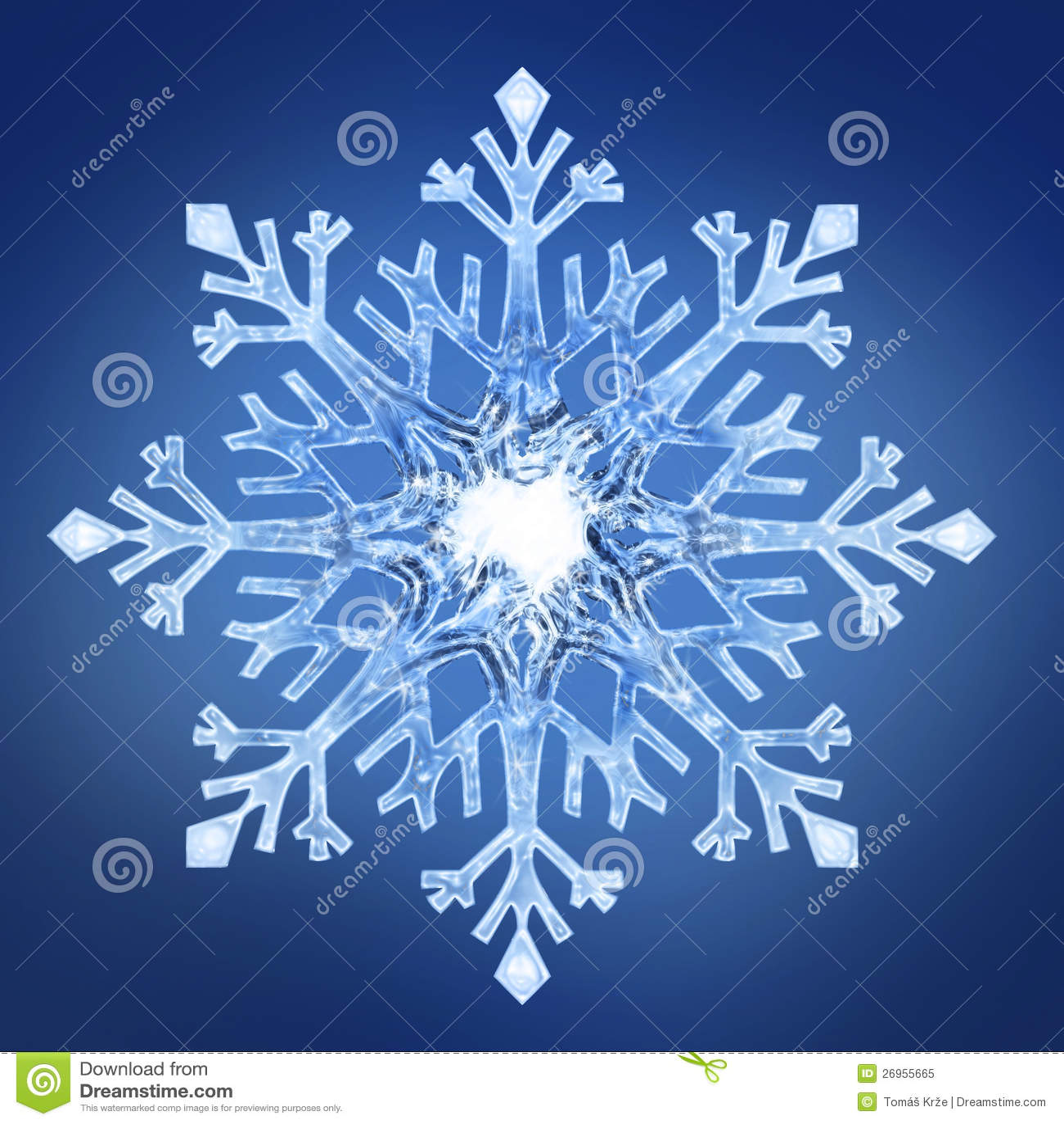 flocon de neige 2 image stock image du glace festivit. Black Bedroom Furniture Sets. Home Design Ideas
