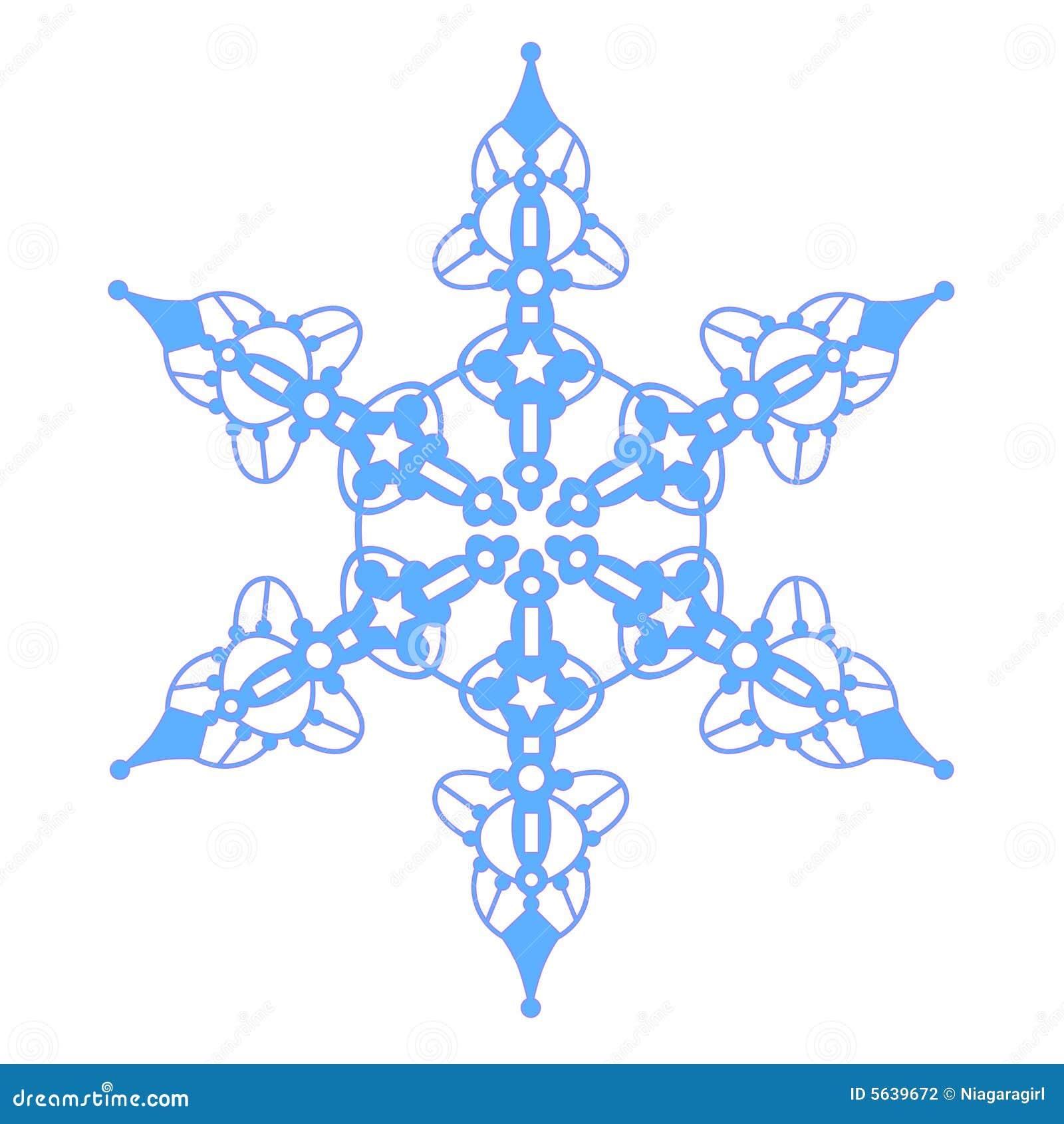 Flocon de neige bleu avec des toiles photographie stock image 5639672 - Dessin etoile des neiges ...