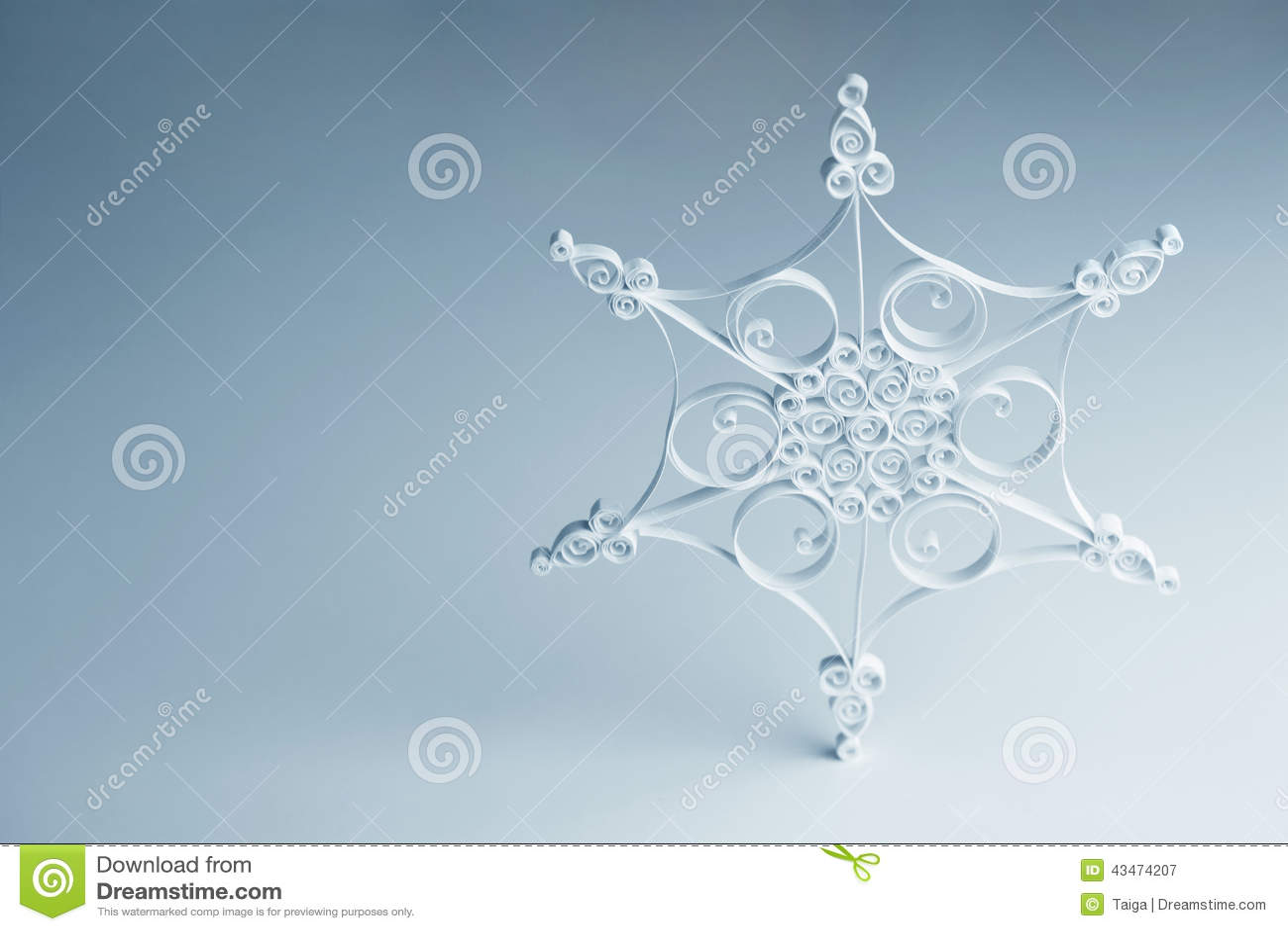 #86A823 Flocon De Neige Quilling Fait Main Décoration De Noël  6013 decoration de noel quilling 1300x957 px @ aertt.com