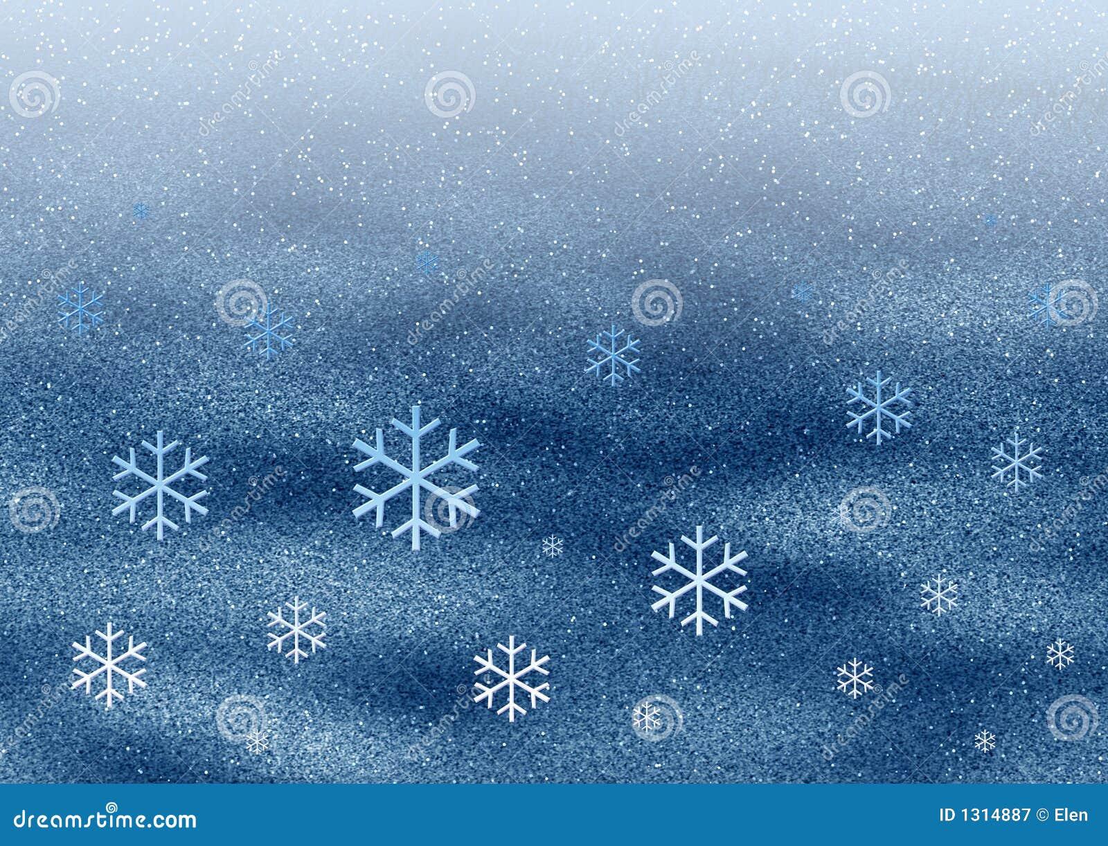 Flocons de neige de l espace
