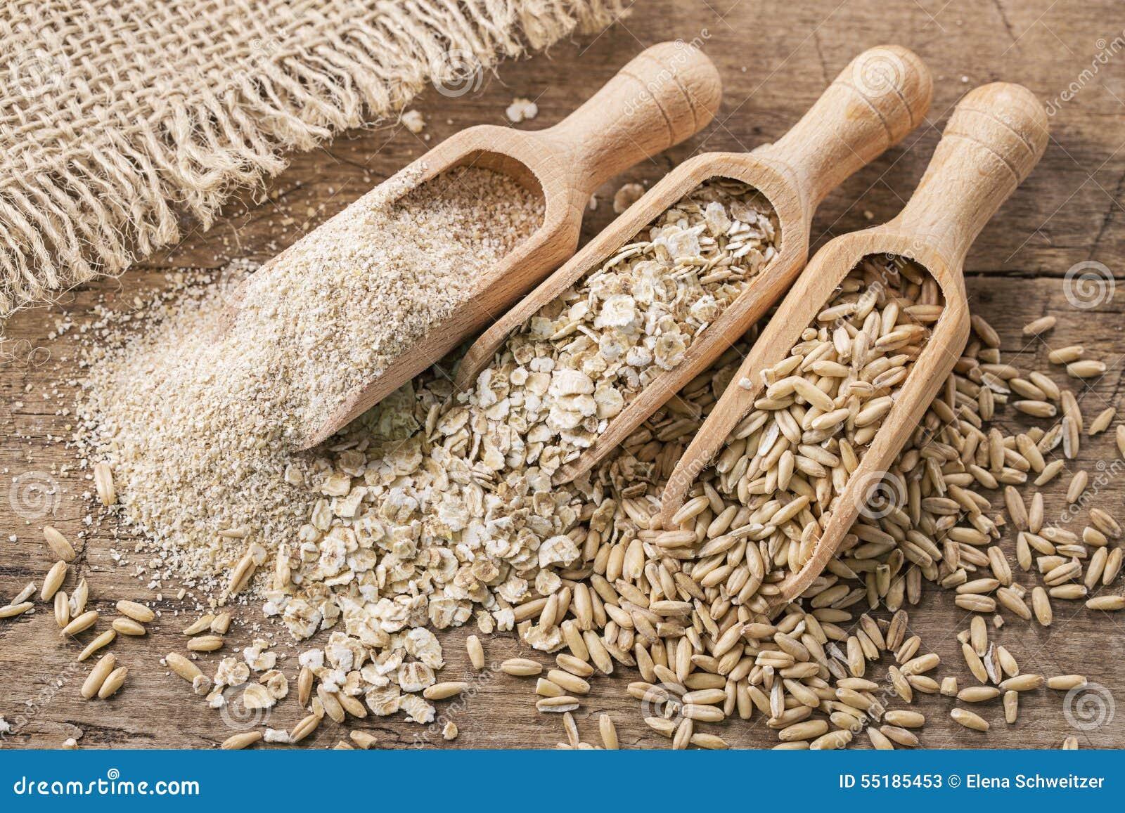 Flocons, graines et son d avoine