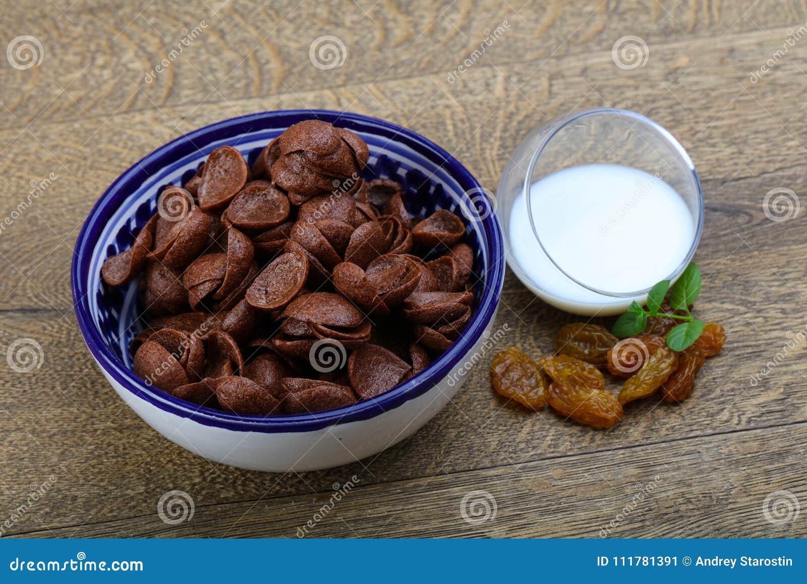 Flocos de milho de Choco