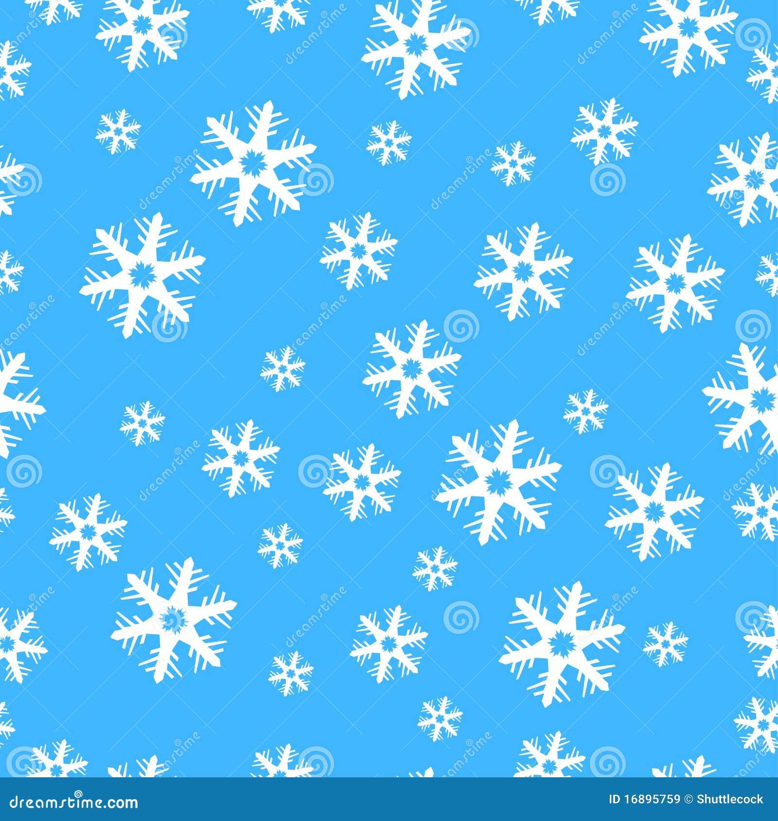 Flocos de neve sem emenda da decoração do Natal