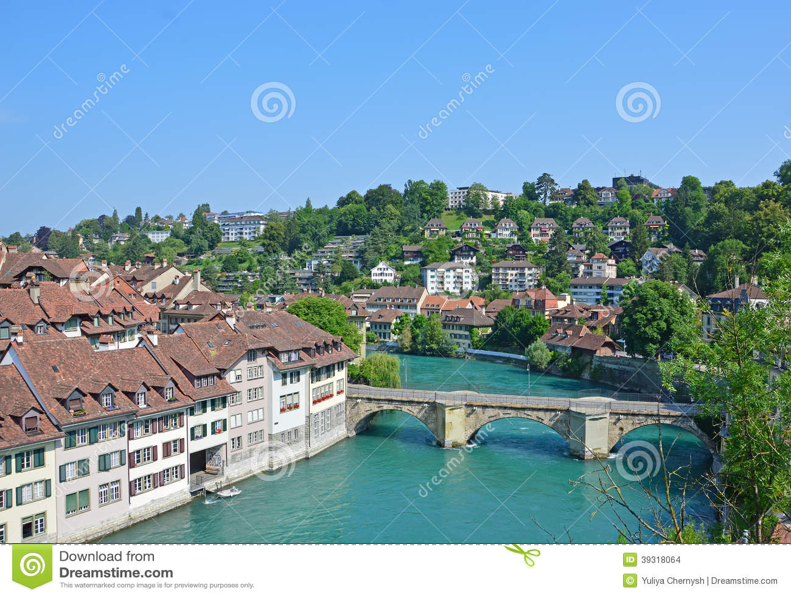 flod i schweiz