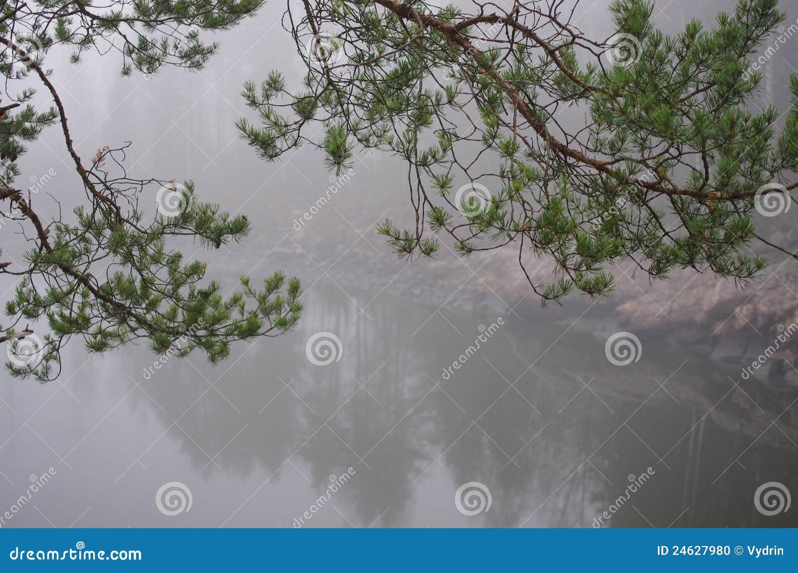 Flod för kanjonfinland imatra