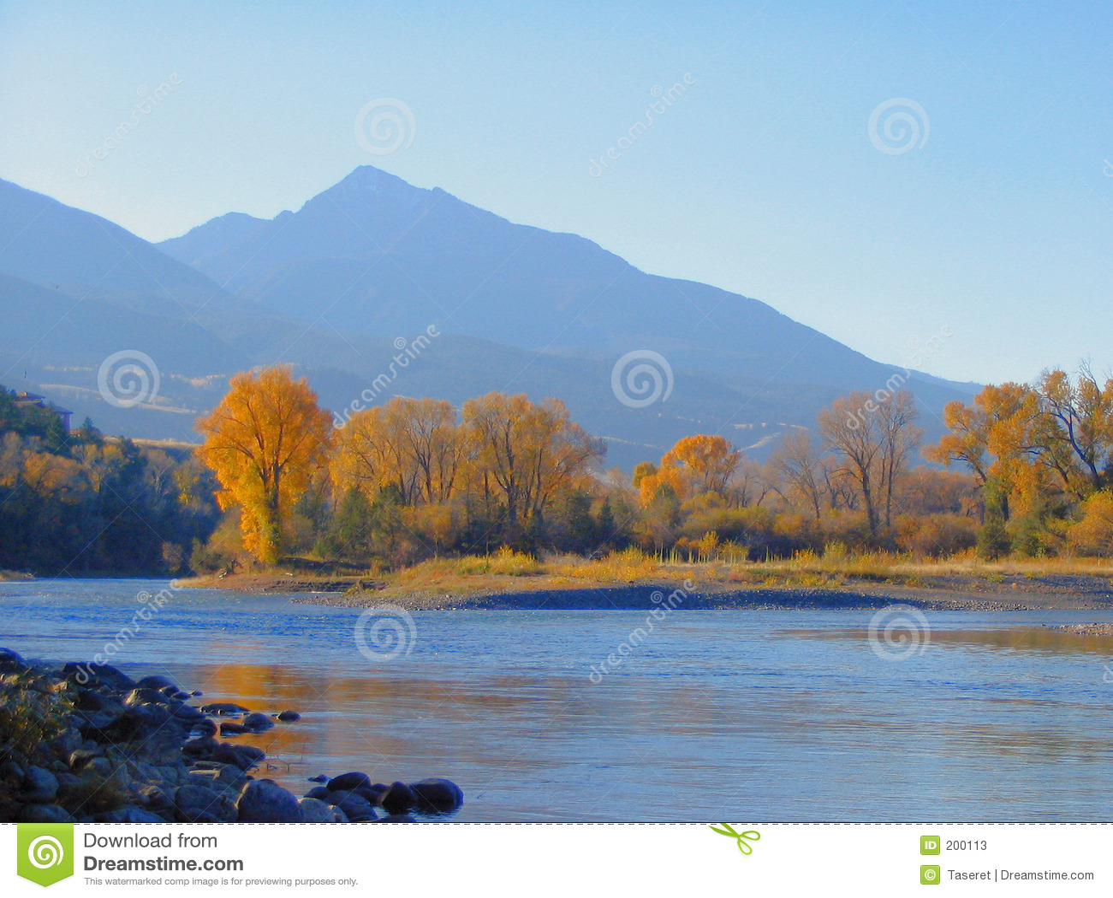 Flod yellowstone