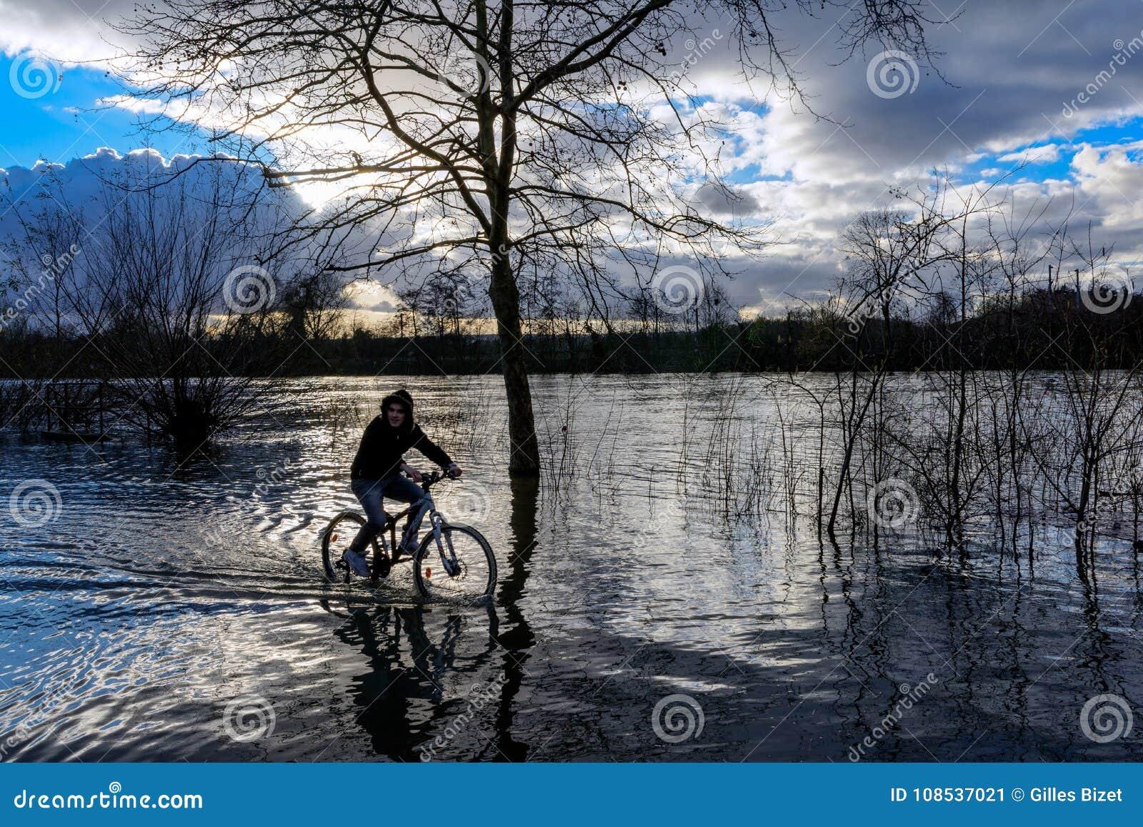 Floder i flod i Frankrike