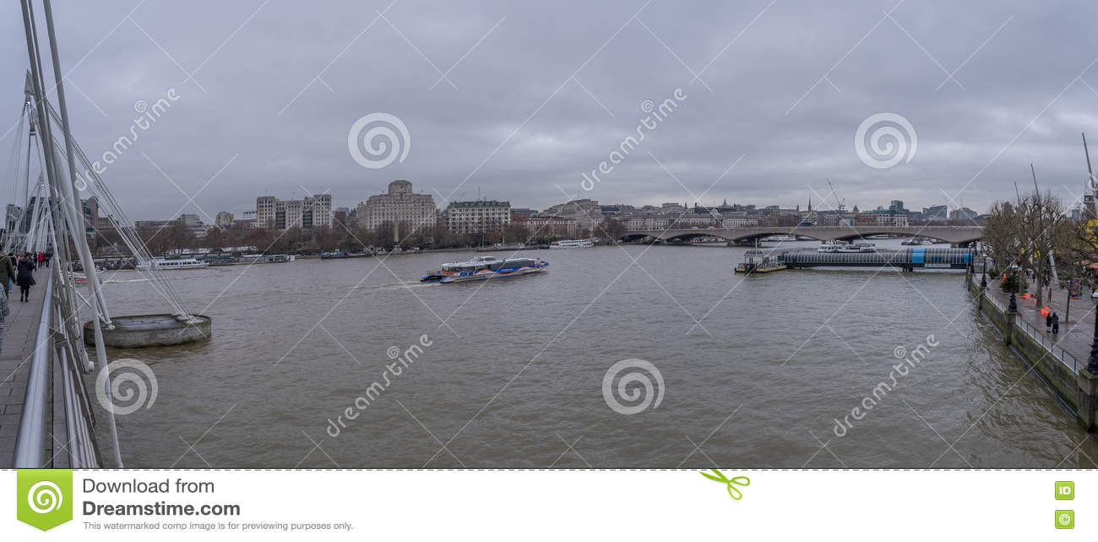 FlodThemsen i centrala London