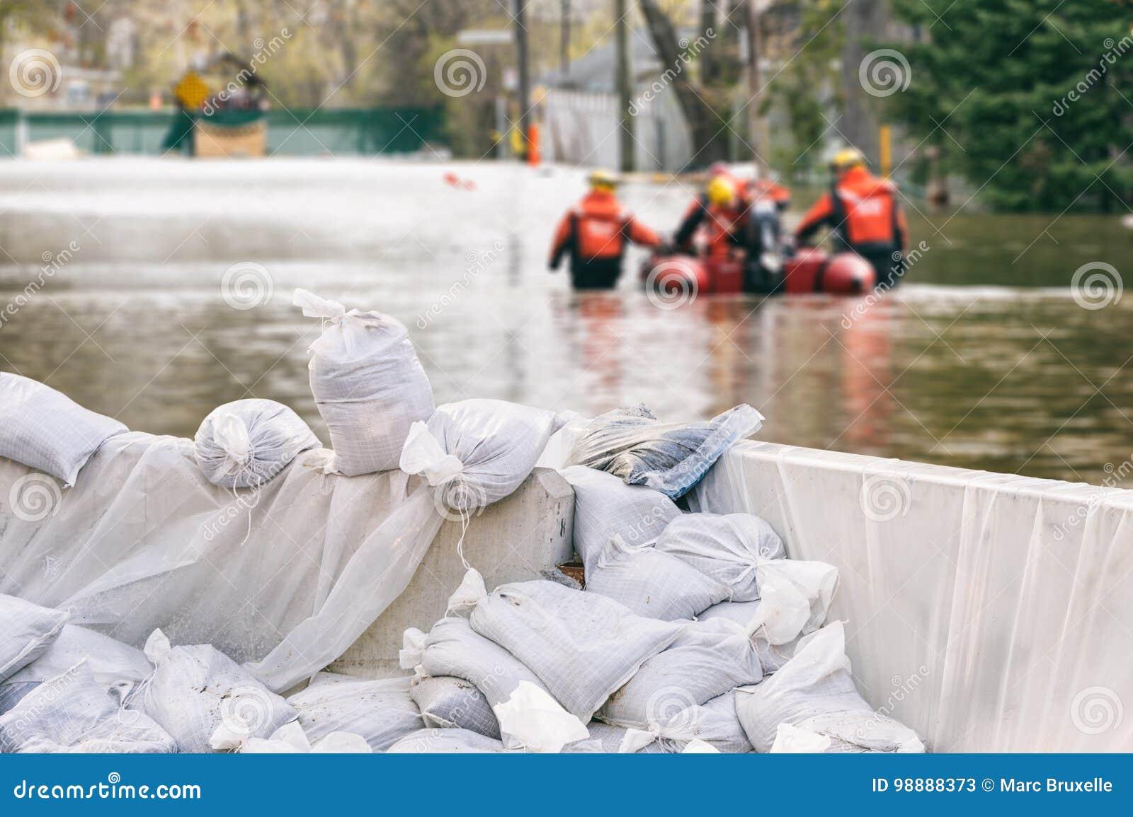 Flood Protection Sandbags