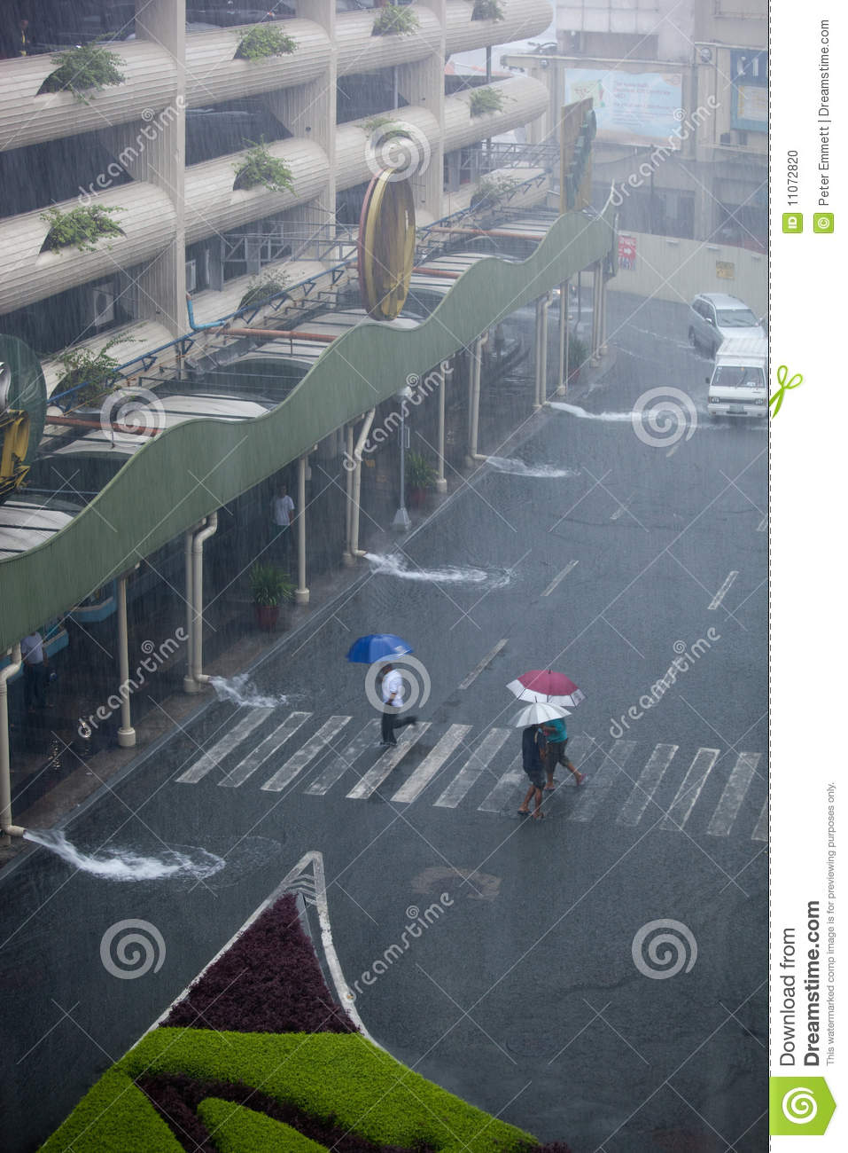Flooding Caused by Typhoon Ondoy