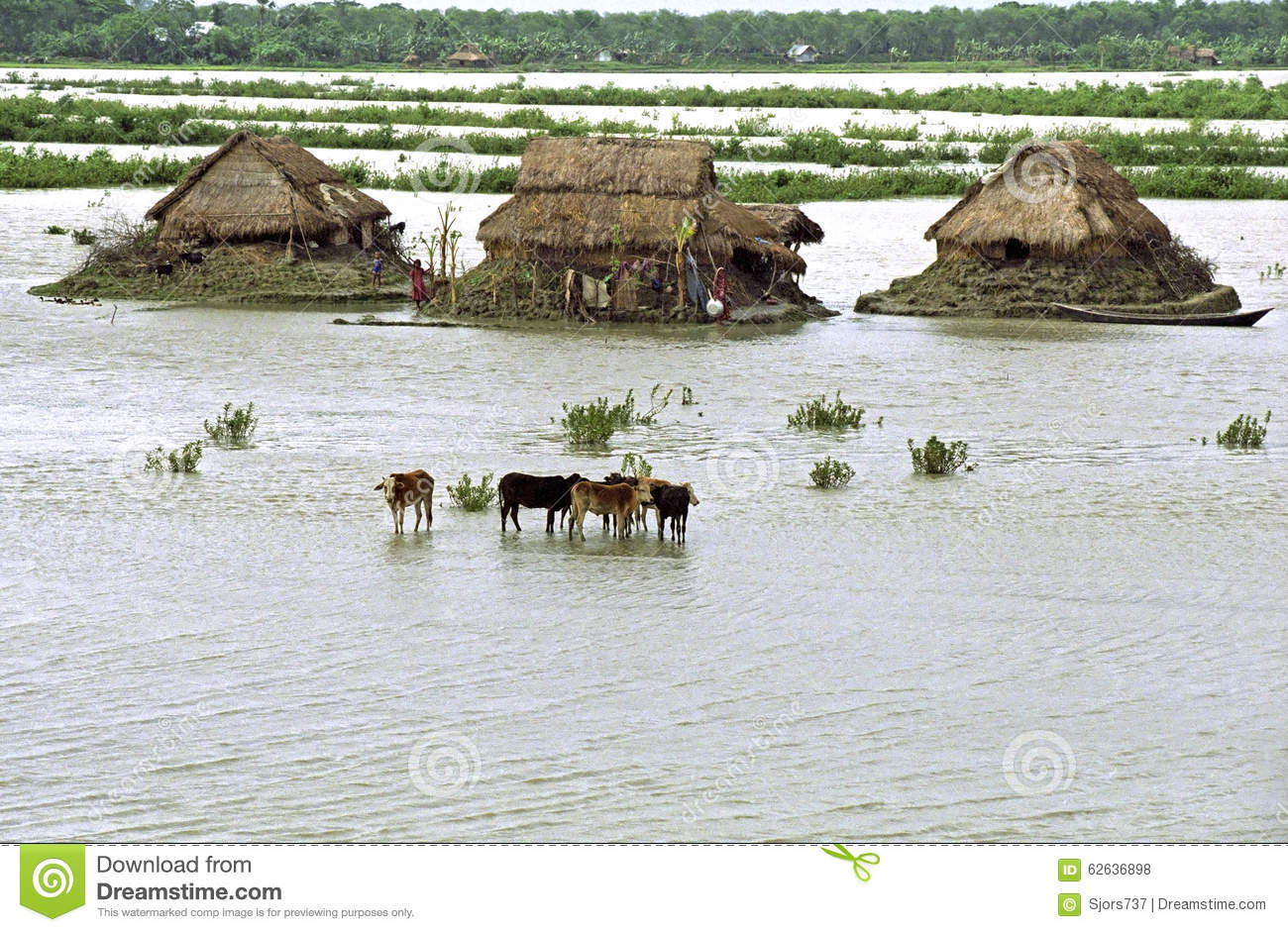 Flooding In The Delta Bangladesh, Climate Changes ...