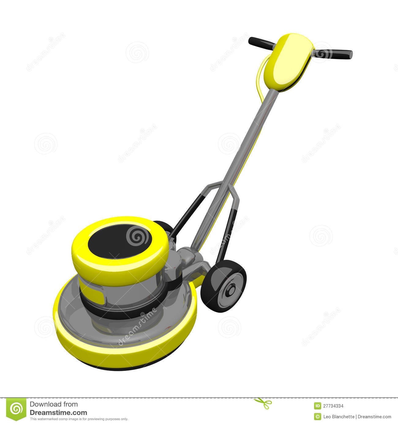 Floor polisher drawing for Floor polisher
