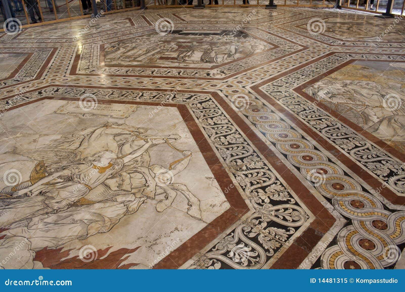 Vatican Museum Floor Plan Floor Of The Cathedral In Siena Royalty Free Stock Photo