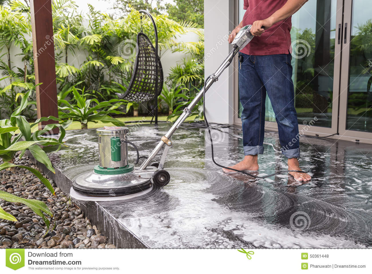 Floor cleaning with big machine stock photo image 50361448 for Floor someone
