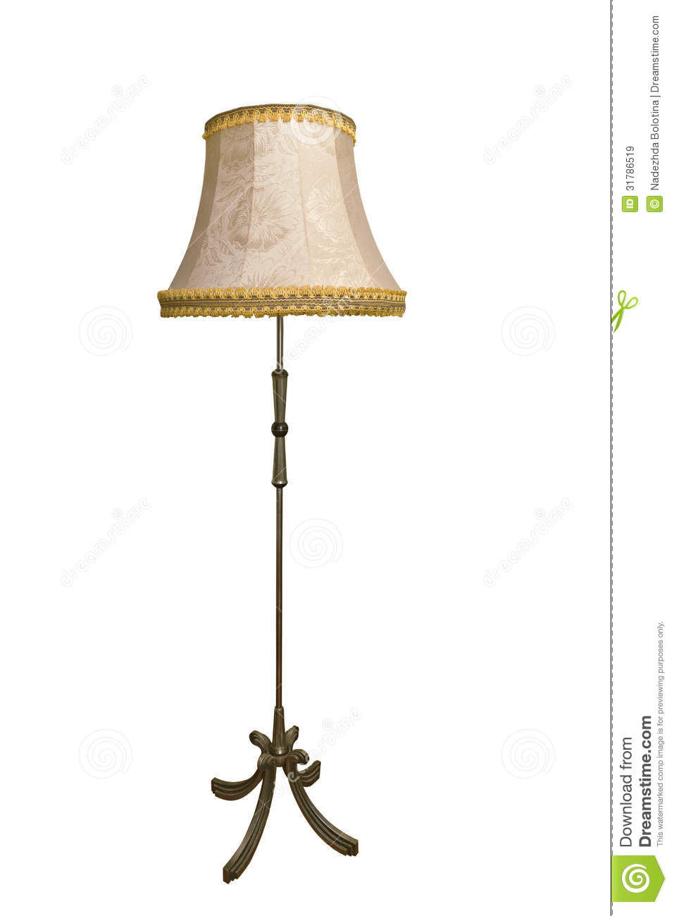 Floor Lamp Stock Image Image Of Electric Retro Stand