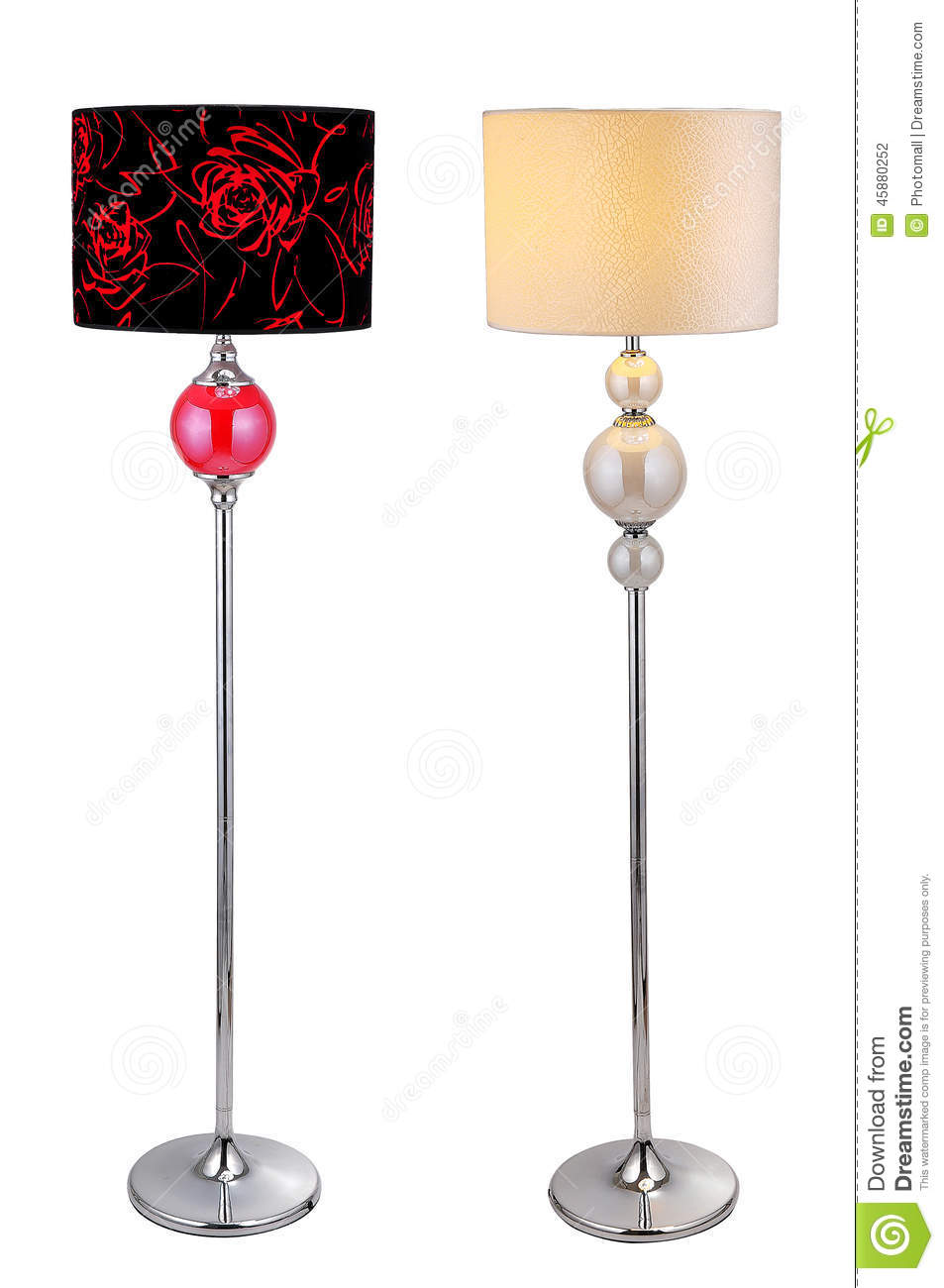 Home Furnishing Decoration Floor Lamp Lighting Light Stock Photo Image Of Carpet Classic 45880252