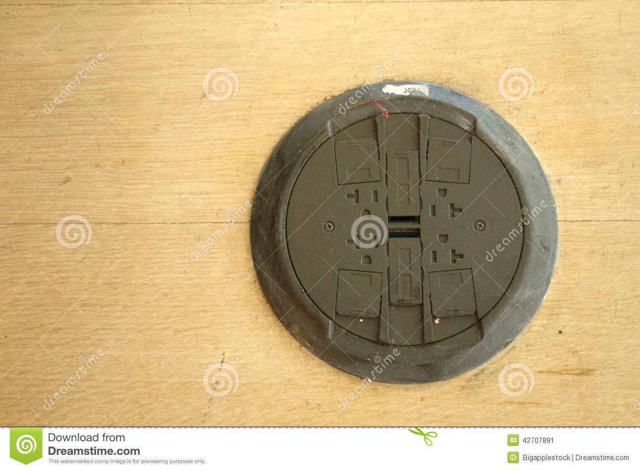 Floor Outlets Stock Photo - Image: 42707891