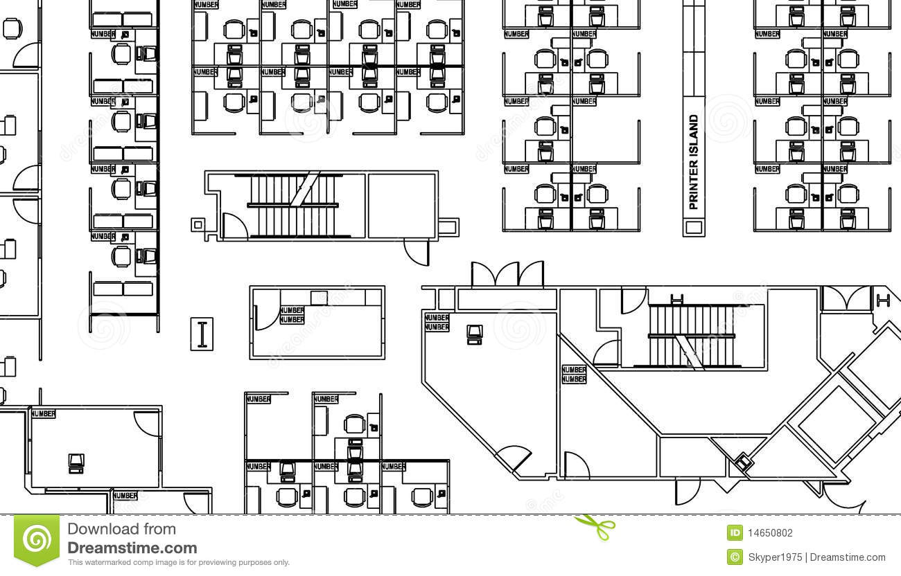 Floor Plan Stock Photography Image 14650802