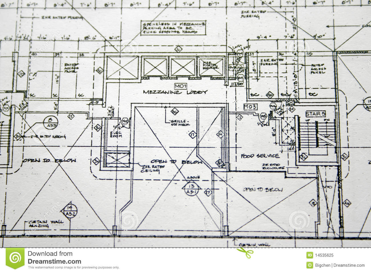 Floor plan drawing royalty free stock photo image 14535625 for Home plan drawing