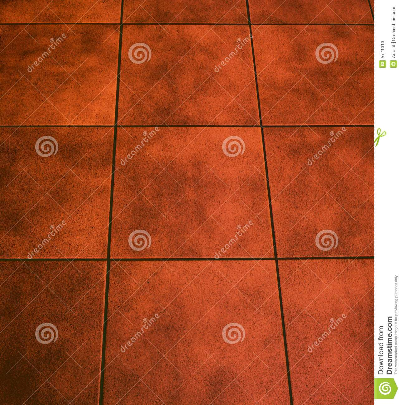Floor Tile Stock Image Of Cream Pale Pitted Regular 5771313