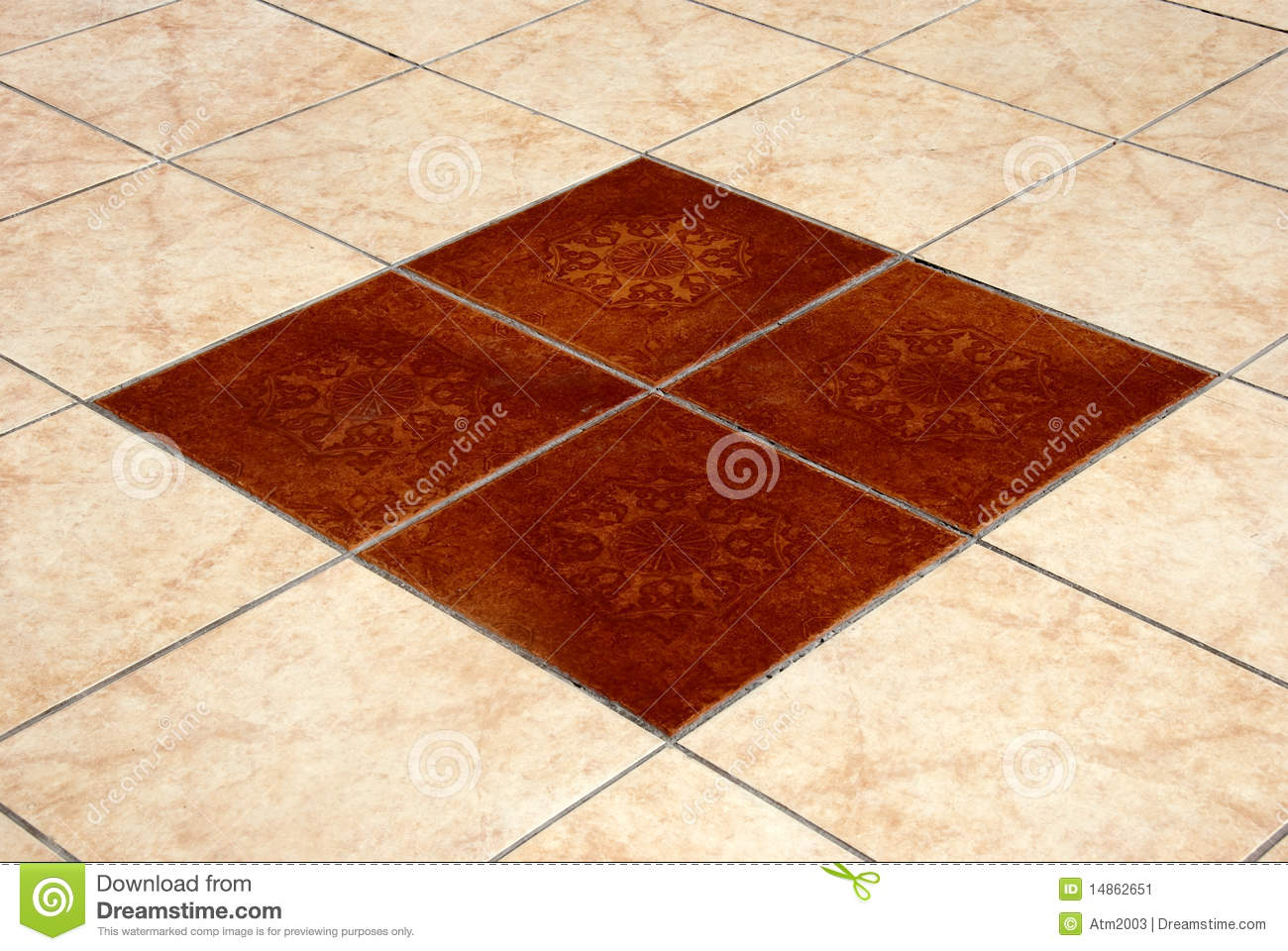 Floor Tiles Stock Image Of Ceramic Close
