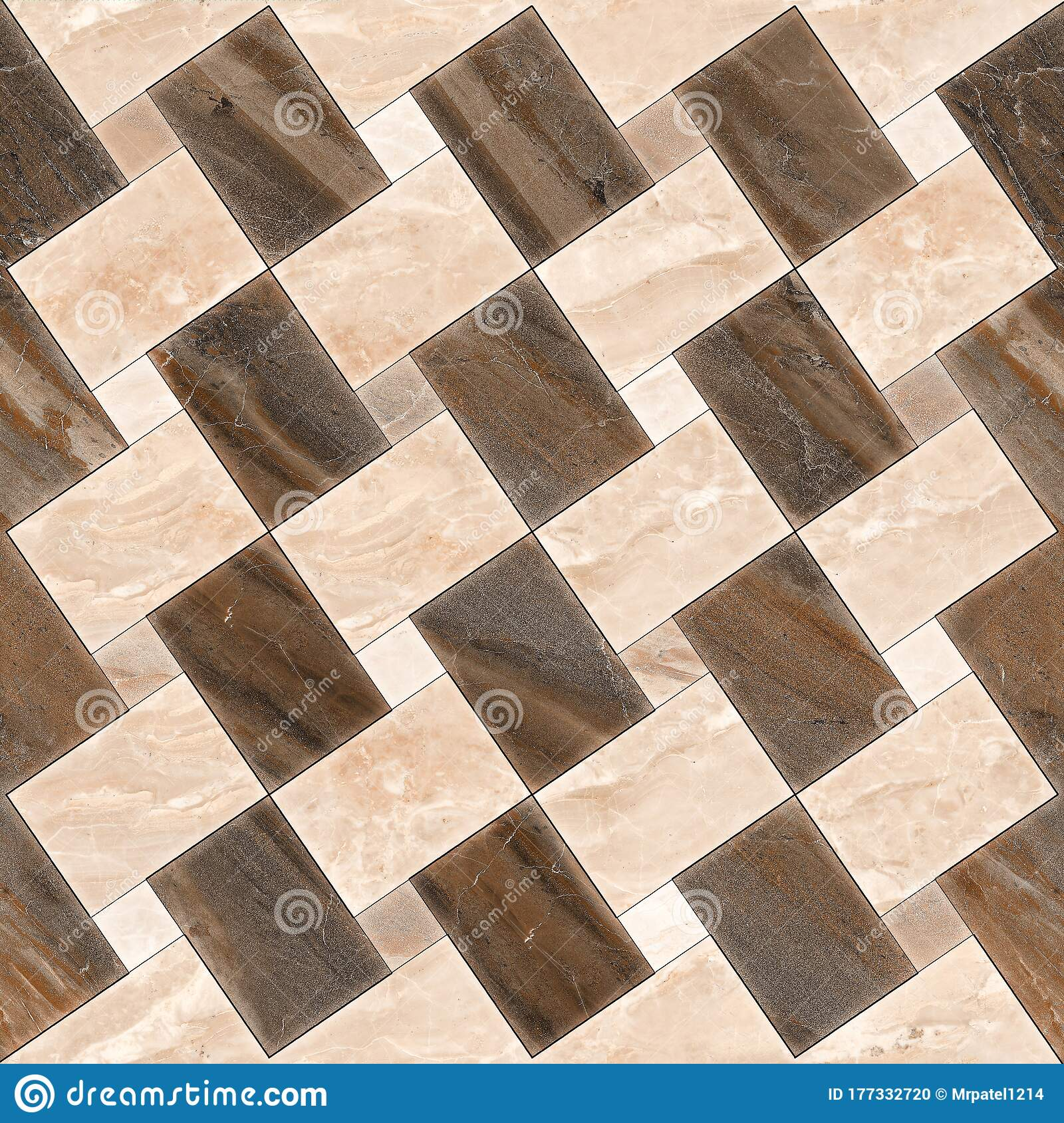 Marble Geometric Pattern Mosaic Decor Wall And Floor Tile Stock Photo Image Of Flooring Decoration 177332720