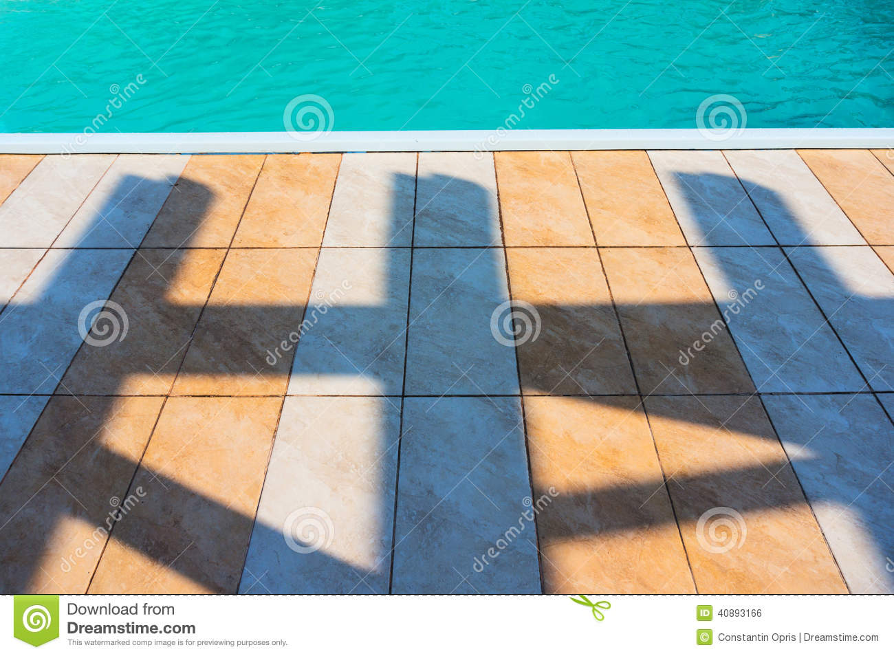 floor tiles and swimming pool stock photo image 40893166