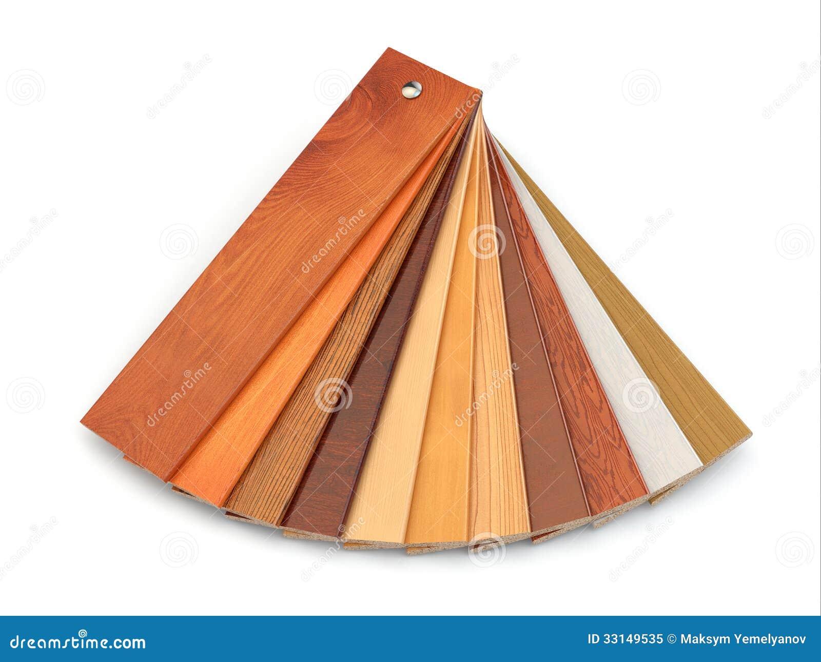 Flooring laminate or parqet samples stock illustration for Laminate wood flooring samples