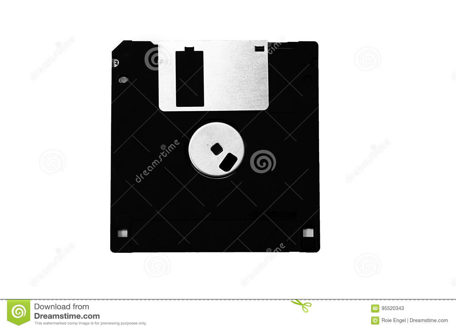 floppy office sticky notes floppy disk image in black and white floppy disk image in black and white stock illustration