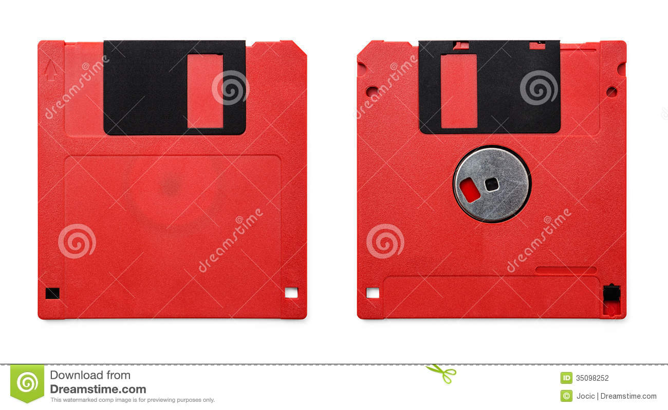 Floppy Disk Stock Photography - Image: 35098252