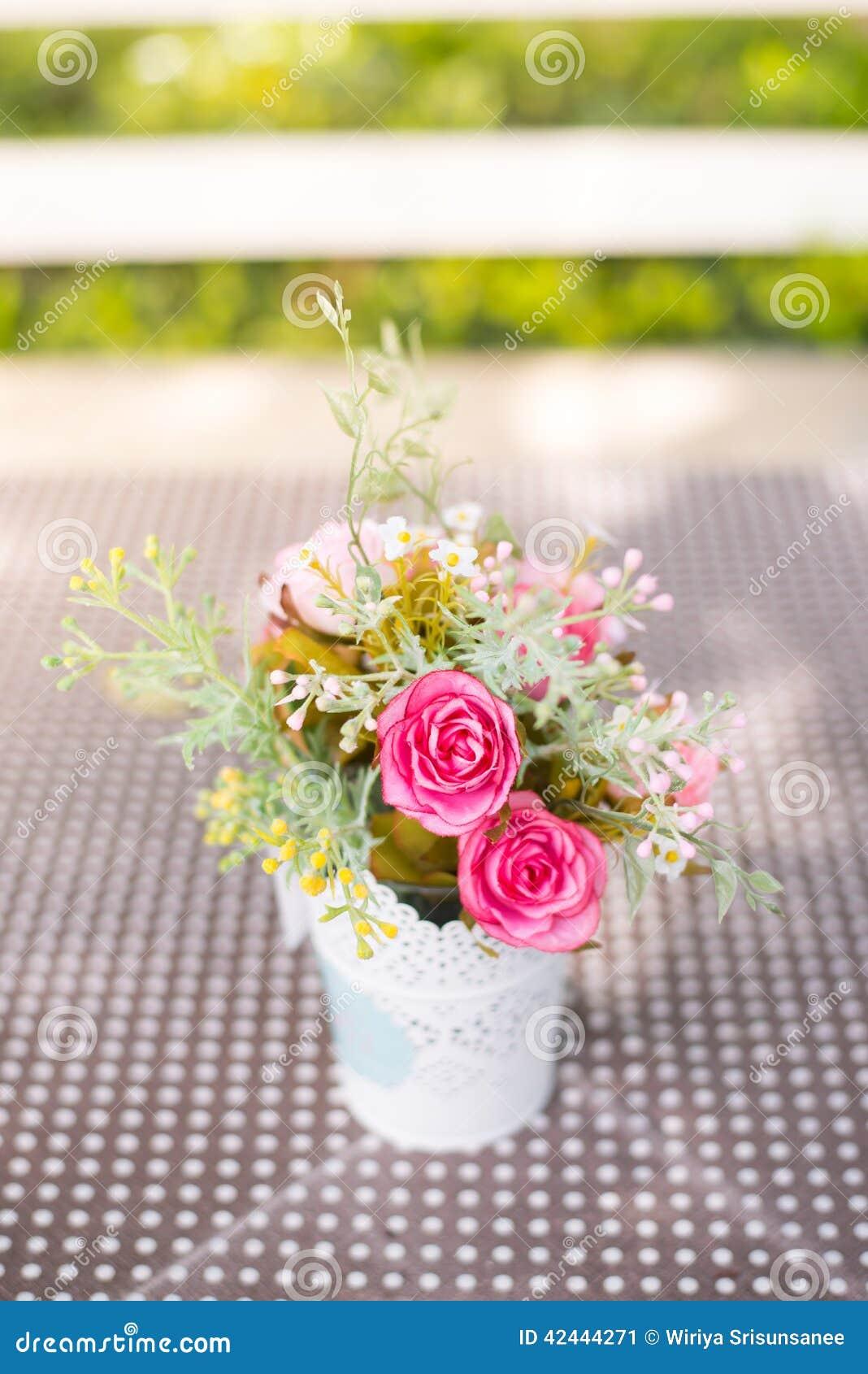 Flor artificial de la decoración