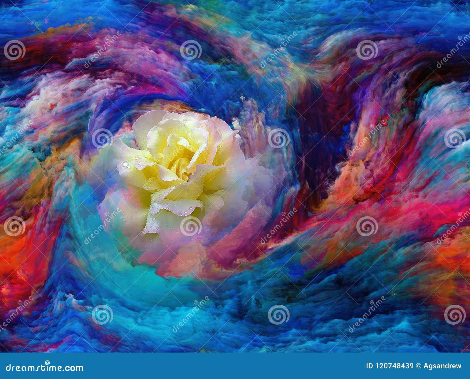 Flor da cor