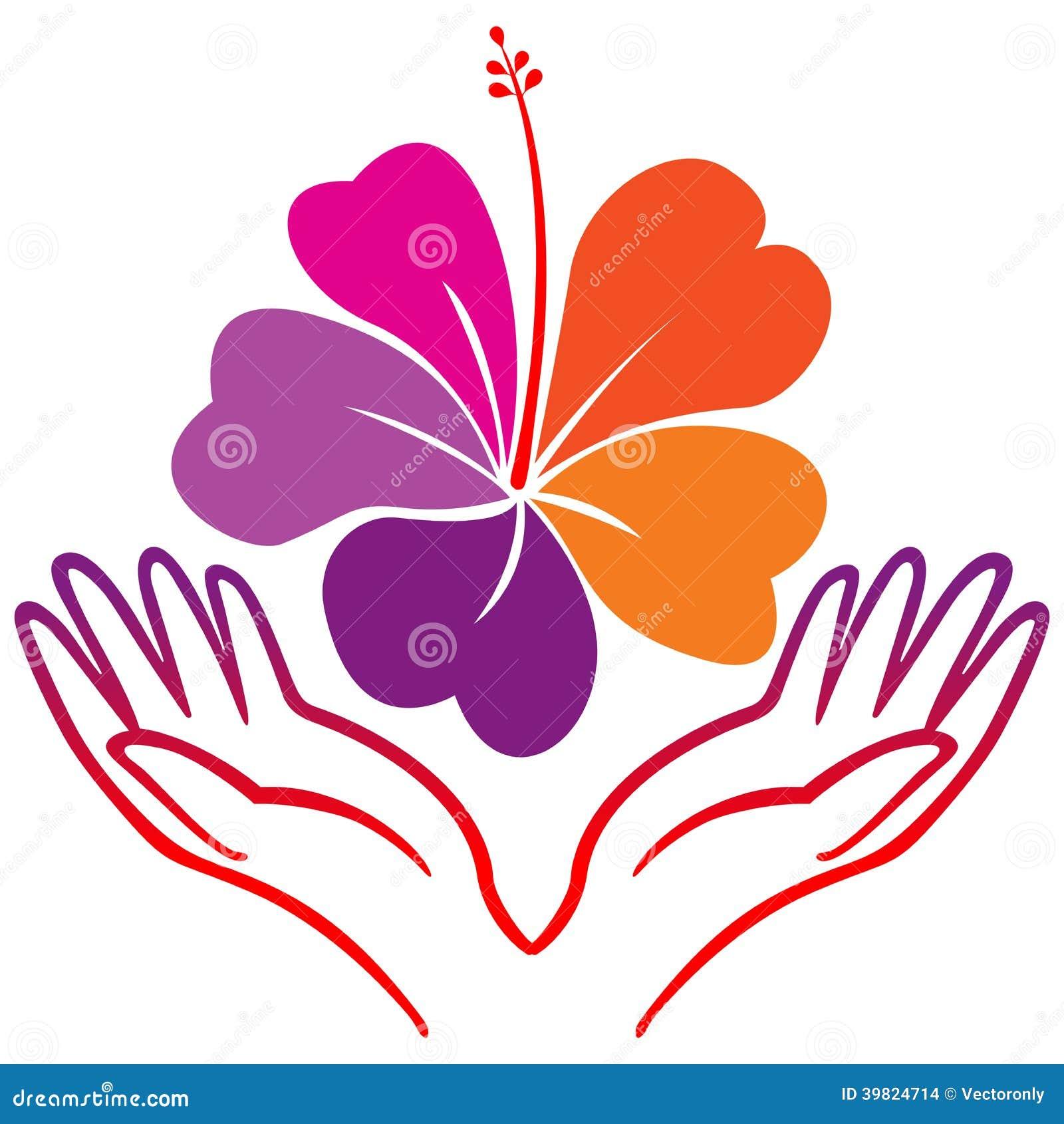 Flor Del Hibisco Ilustración del Vector - Imagen: 39824714