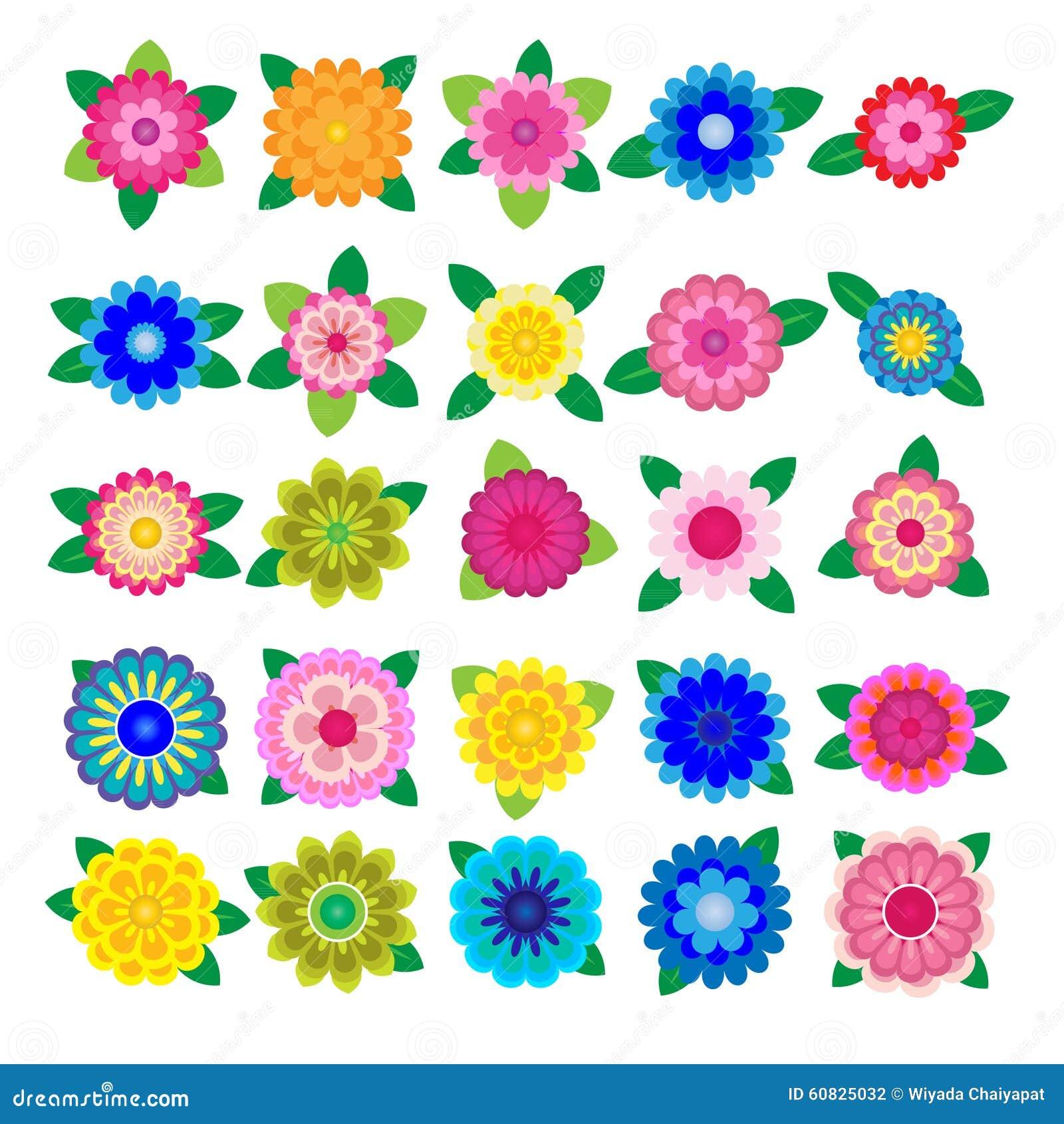 Flor del vector