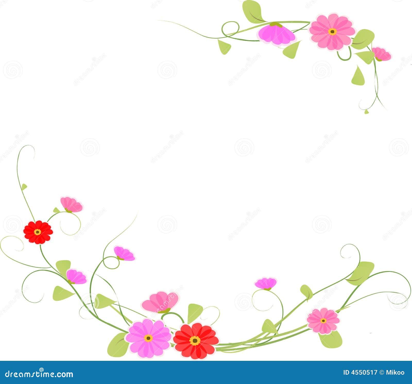 Flor do fundo, vetor