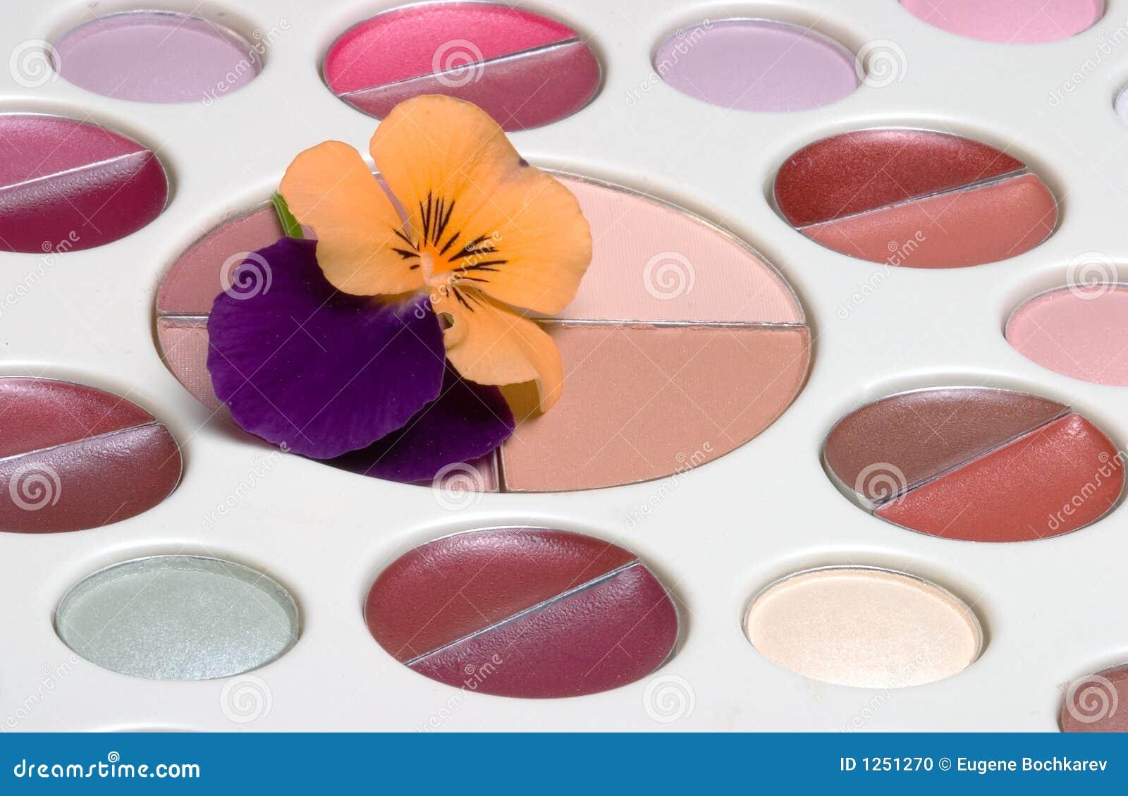 Flor no jogo da composição