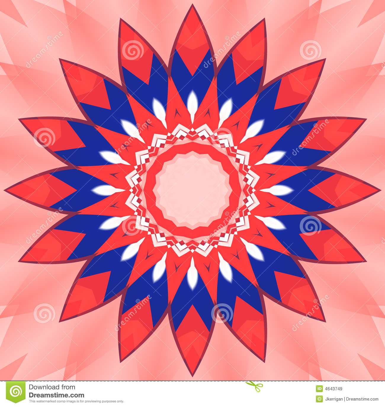 Flor patriótica