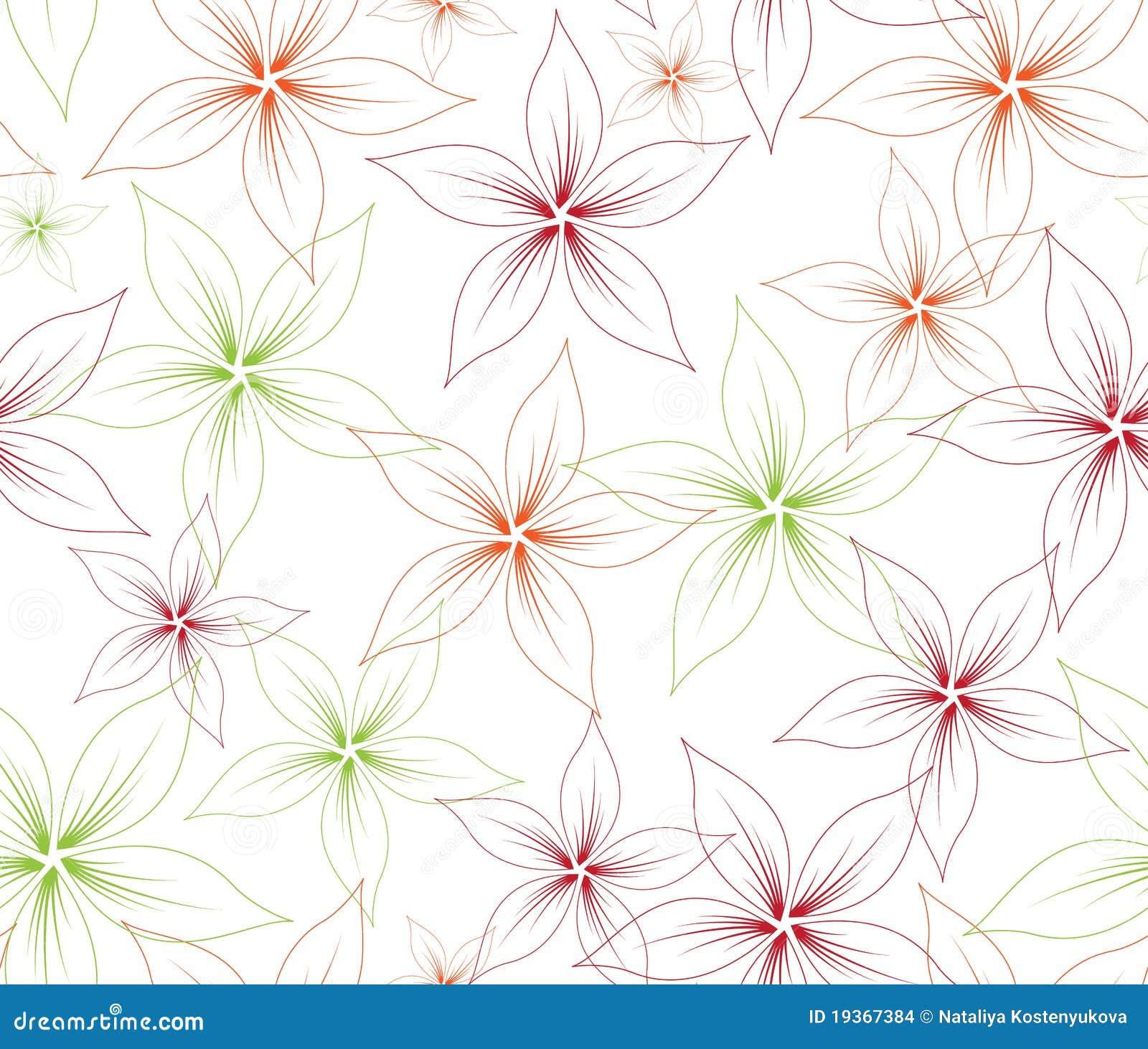 Flor sem emenda