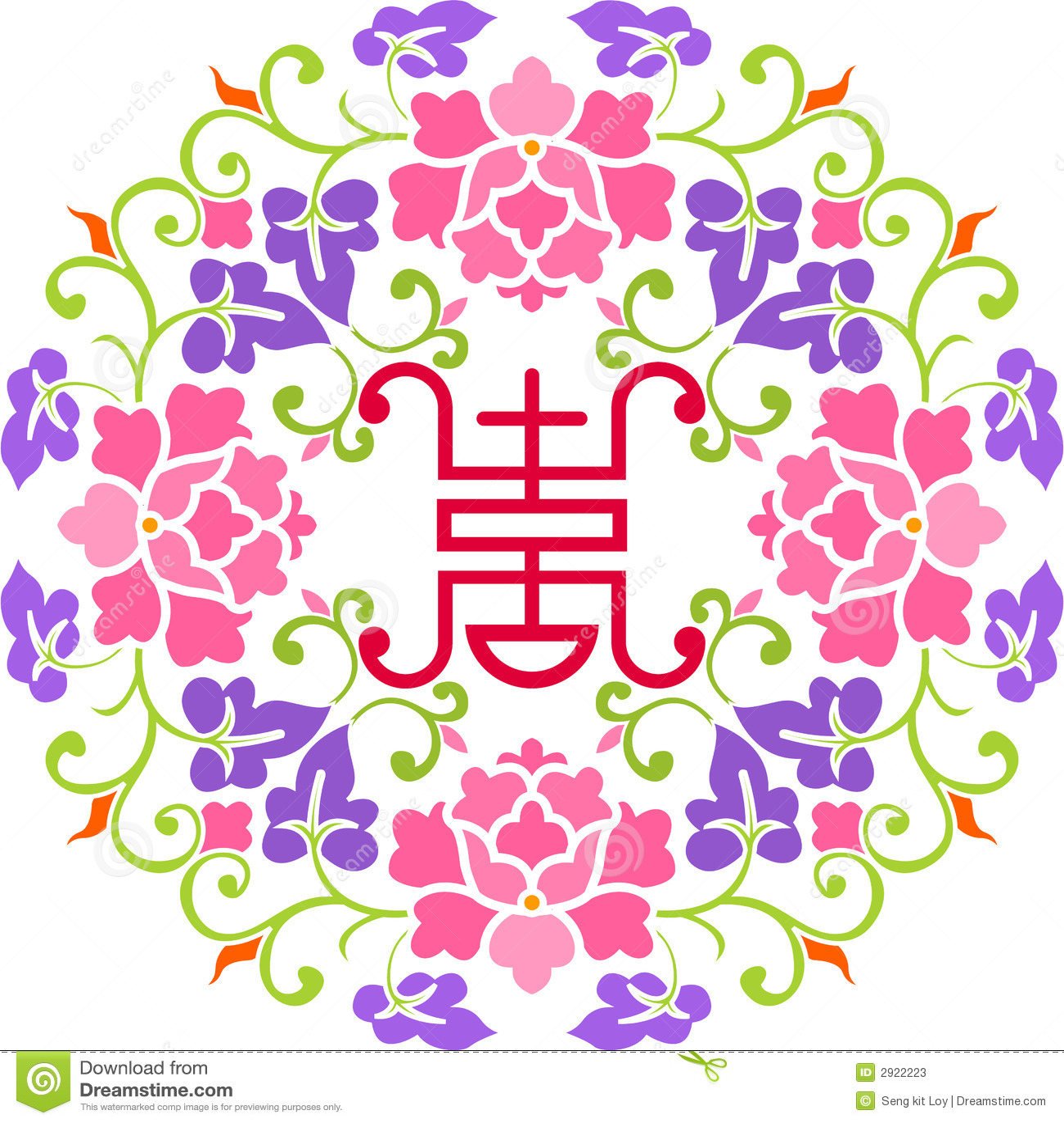 Flor y felicidad